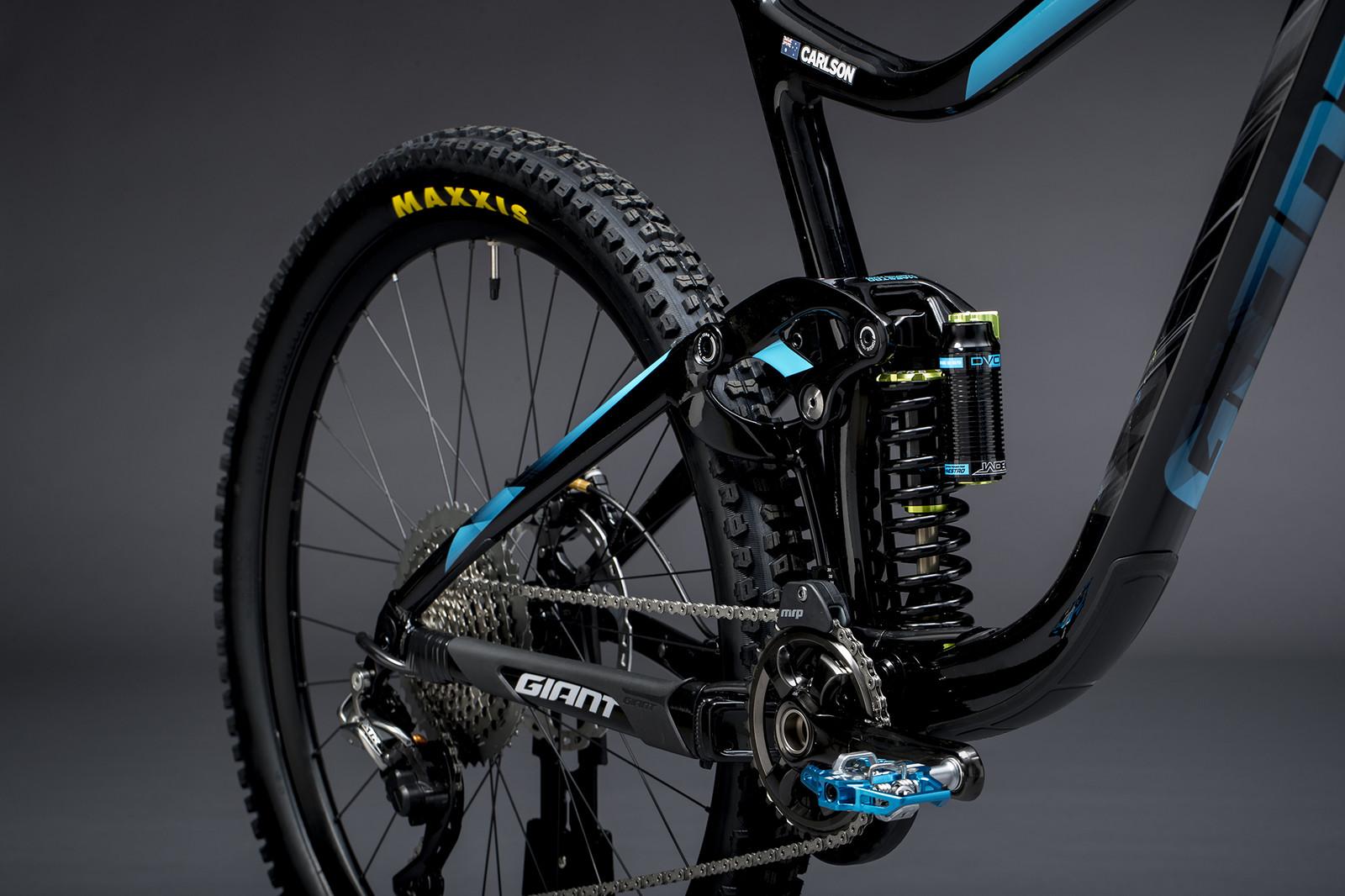 Josh Carlson's Reign Advanced - Giant Factory Off-Road Team Bikes - Mountain Biking Pictures - Vital MTB