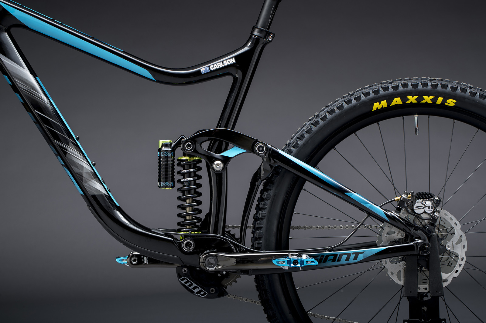 Josh Carlson's Reign Advanced - Giant Factory Off-Road Team Bikes - Mountain Biking Pictures - Vital MTB