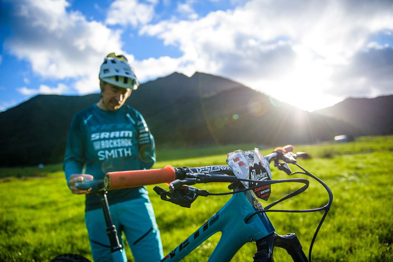 NZ Enduro Radness - Nate Hills' Yeti SB5 with 2019 RockShox Lyrik - Mountain Biking Pictures - Vital MTB