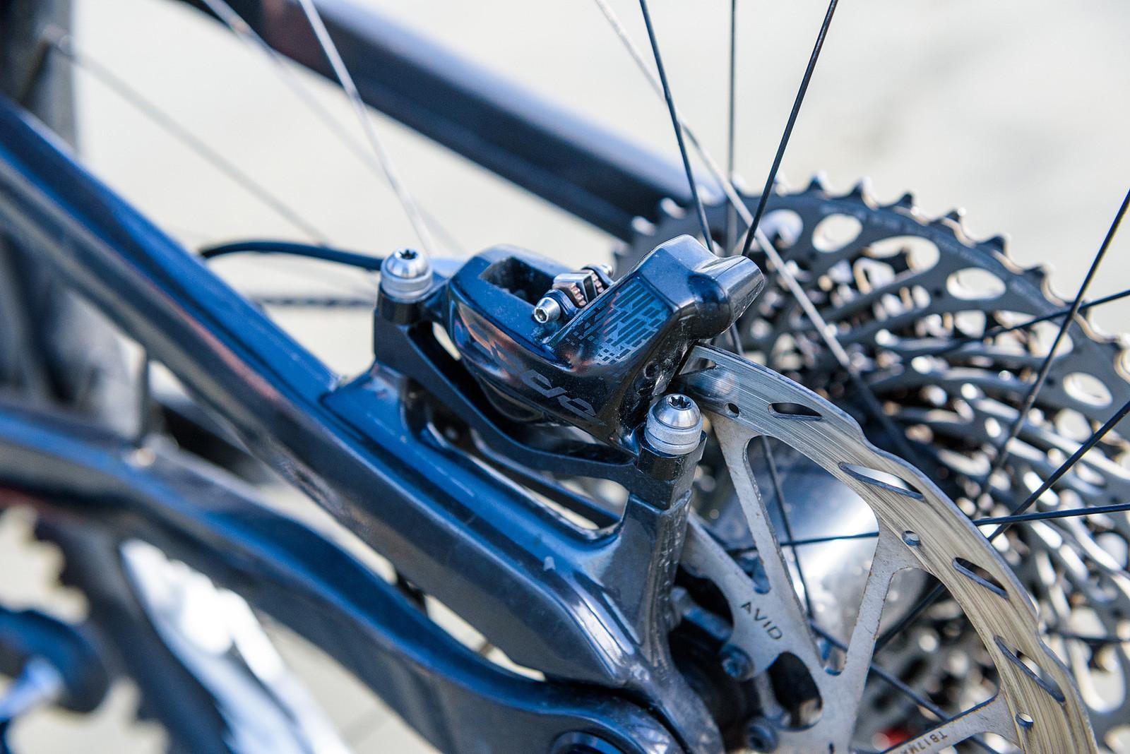 SRAM CODE Brakes - Keegan Wright's Prototype Devinci 29er Enduro Machine - Mountain Biking Pictures - Vital MTB
