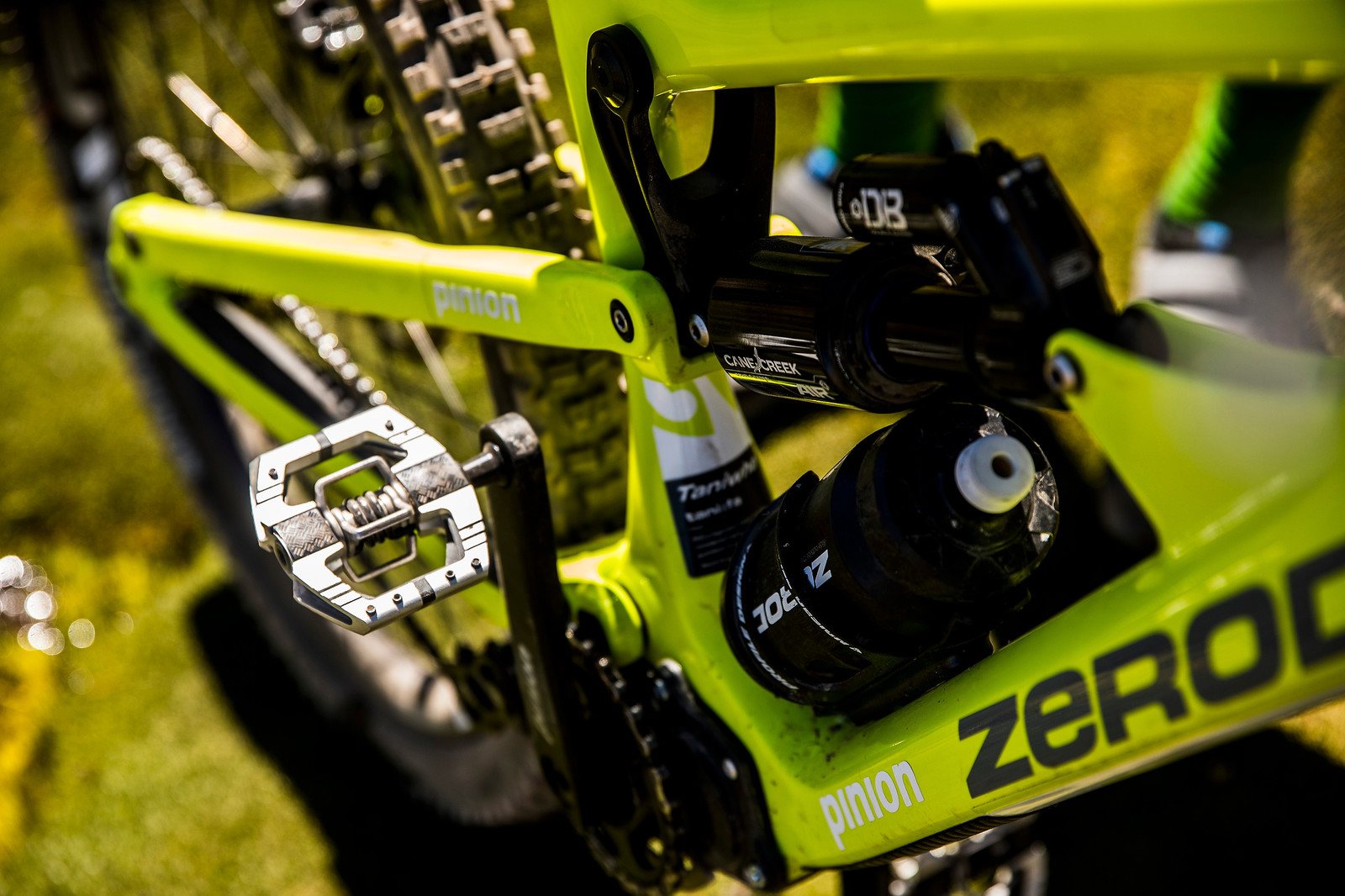 Sam Shaw's Zerode - PIT BITS AND BIKES - Enduro World Series, Chile - Mountain Biking Pictures - Vital MTB