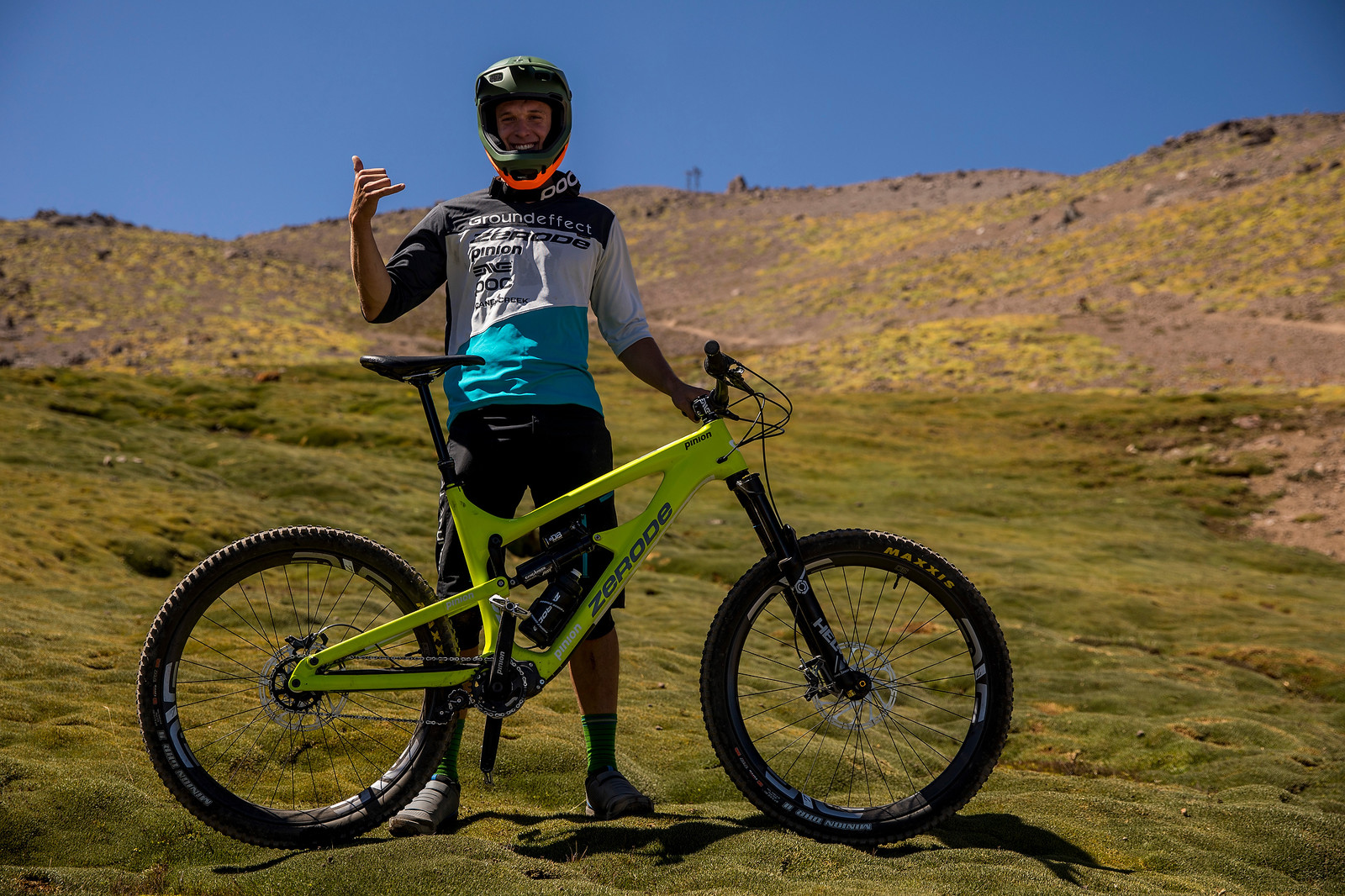 Sam Shaw's Zerode Taniwha - PIT BITS AND BIKES - Enduro World Series, Chile - Mountain Biking Pictures - Vital MTB