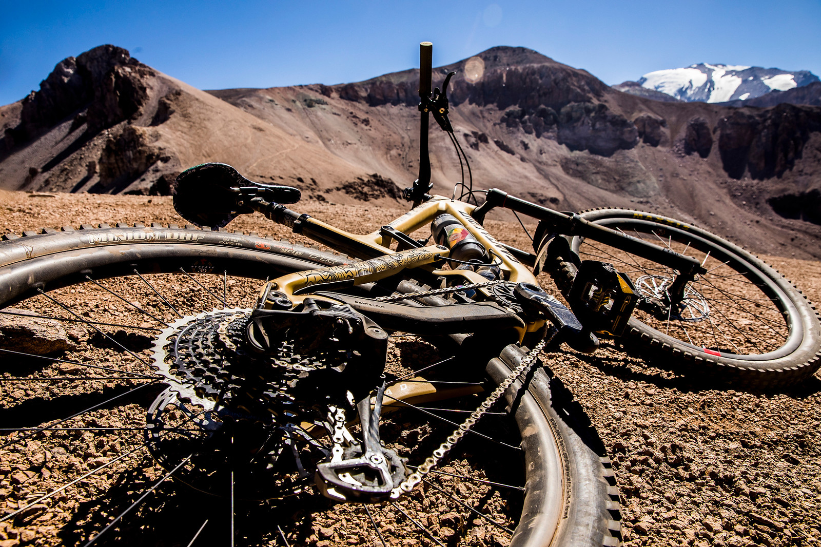 Sven's Santa Cruz Nomad 4 at the 2018 EWS La Parva - PIT BITS AND BIKES - Enduro World Series, Chile - Mountain Biking Pictures - Vital MTB