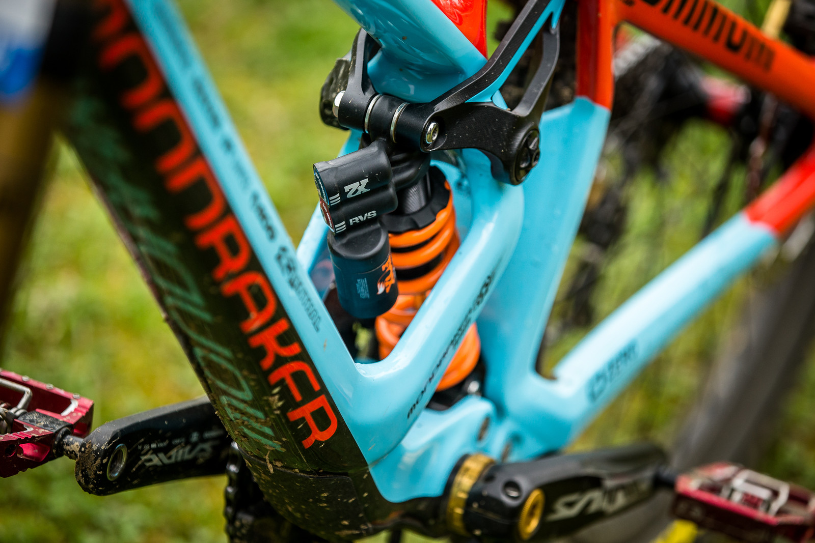 FOX DHX2 Rear Shock - WINNING BIKE - Laurie Greenland's Mondraker Summum - Mountain Biking Pictures - Vital MTB