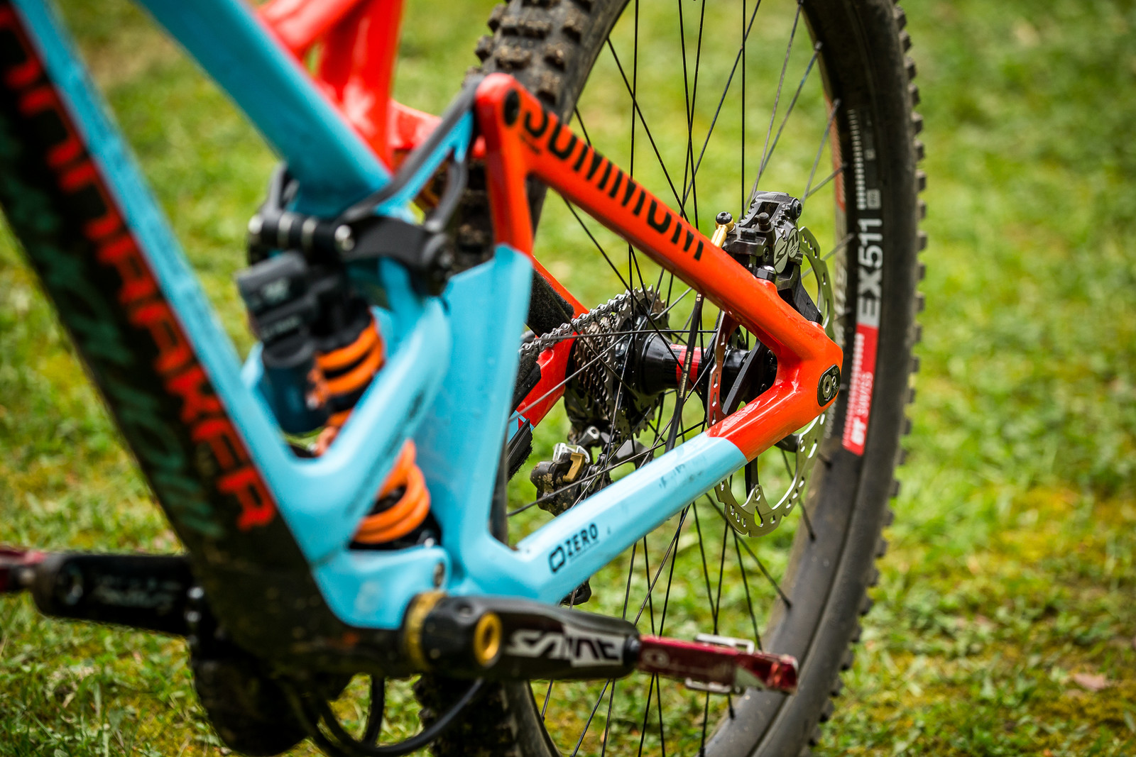 5mm Back in the Dropouts - WINNING BIKE - Laurie Greenland's Mondraker Summum - Mountain Biking Pictures - Vital MTB