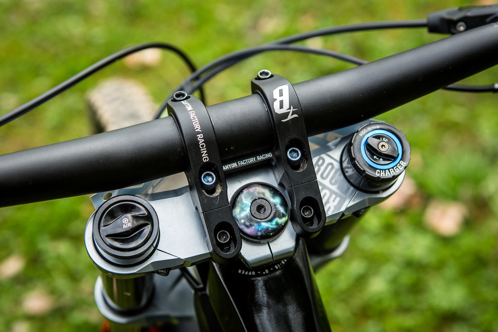Canyon Direct-Mount Stem - Pro Bike Check: Troy Brosnan's Canyon Sender - Mountain Biking Pictures - Vital MTB