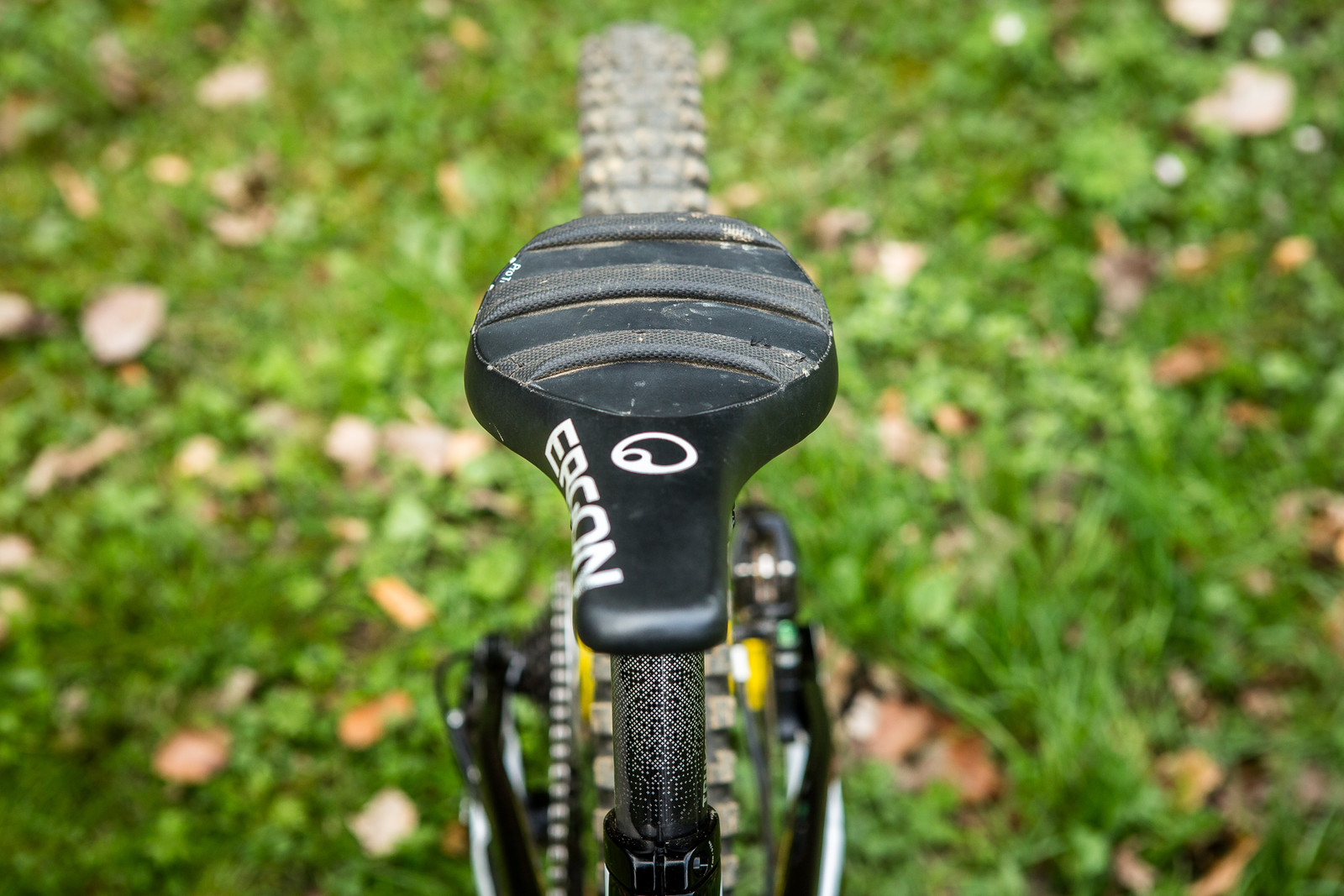 Ergon DH Saddle - Pro Bike Check: Troy Brosnan's Canyon Sender - Mountain Biking Pictures - Vital MTB