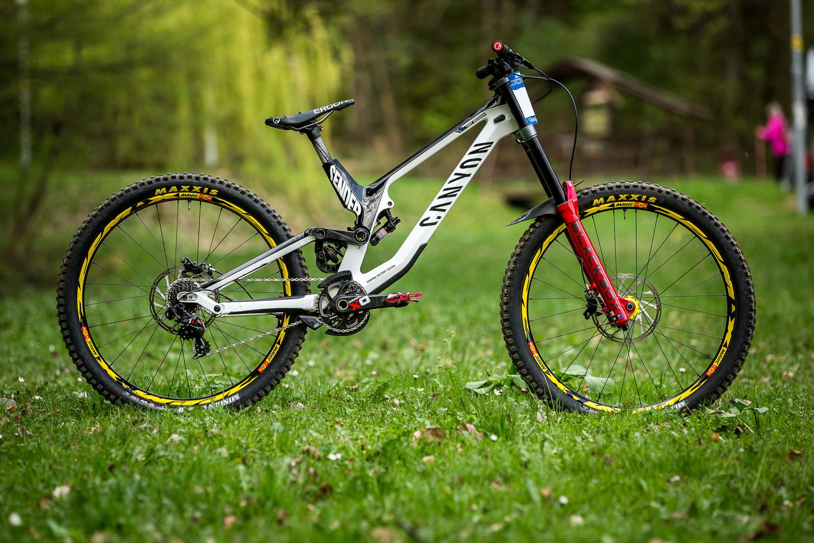 Pro Bike Check: Troy Brosnan's Canyon Sender - Pro Bike Check: Troy Brosnan's Canyon Sender - Mountain Biking Pictures - Vital MTB