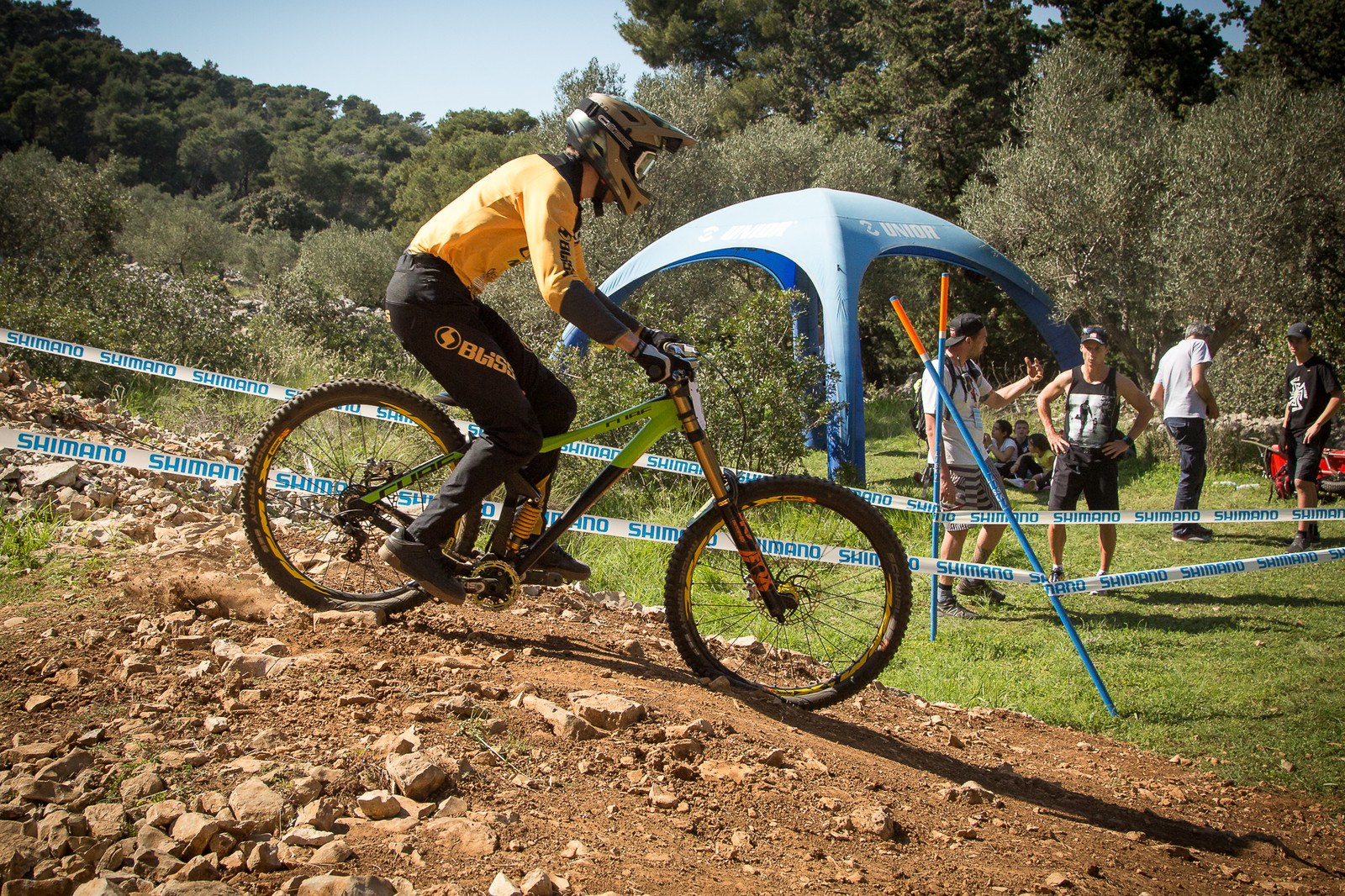 34-Degree Head Angle - G-Out Project - Croatia World Cup DH - Mountain Biking Pictures - Vital MTB