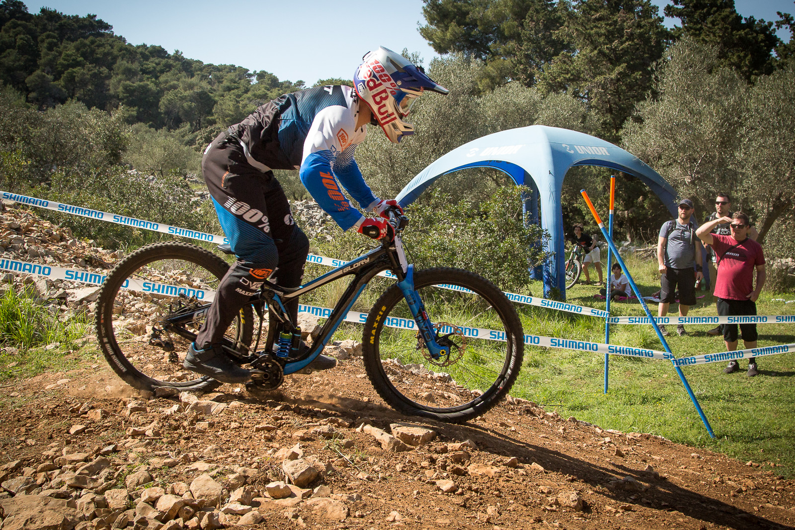 Marcelo Gutierrez's Giant Glory with DVO at Full Squish - G-Out Project - Croatia World Cup DH - Mountain Biking Pictures - Vital MTB