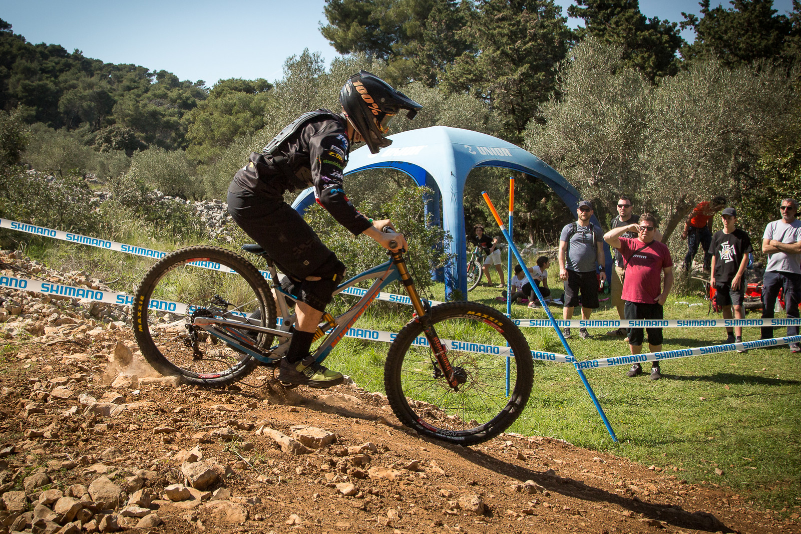 Nuke Proof Pulse with Ohlins Bottomed Out - G-Out Project - Croatia World Cup DH - Mountain Biking Pictures - Vital MTB