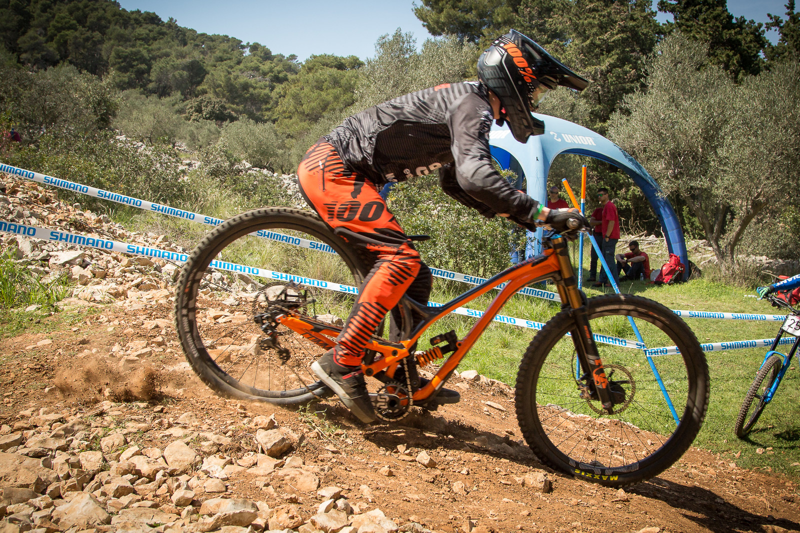 DANG BRUCE! G-Out Project Croatia - Commencal Supreme DH 29 Bottom Out - G-Out Project - Croatia World Cup DH - Mountain Biking Pictures - Vital MTB