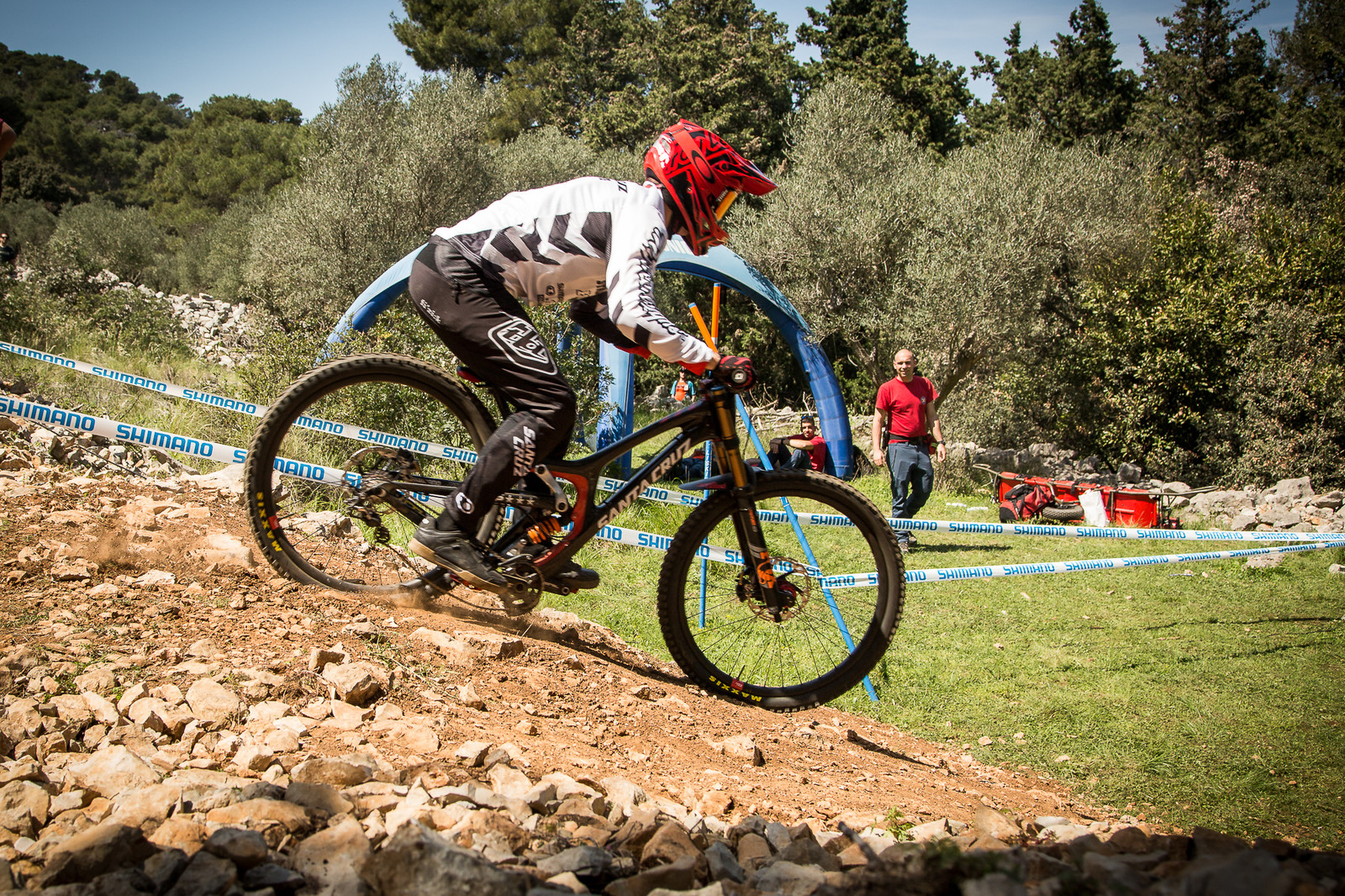 Luca Shaw's Santa Cruz V10 29er Bottomed out - G-Out Project - Croatia World Cup DH - Mountain Biking Pictures - Vital MTB