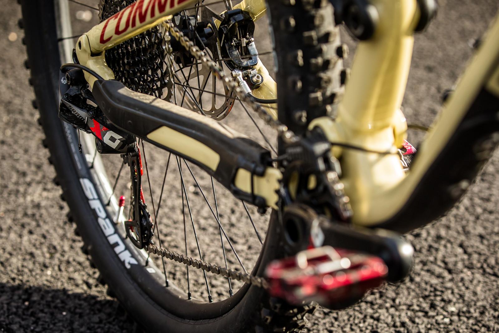 SRAM X01 Eagle Drivetrain - Cecile Ravanel's Commencal Meta AM 29 - Mountain Biking Pictures - Vital MTB