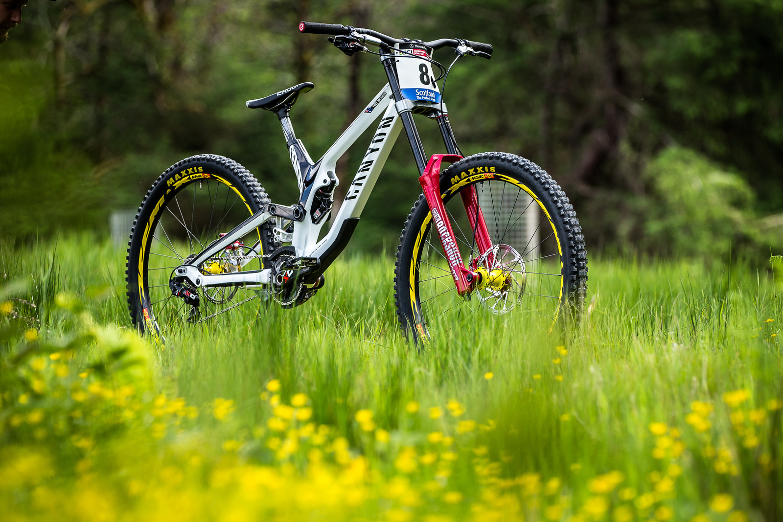 Troy Brosnan's Canyon Sender for Fort William - Troy Brosnan's Canyon Sender for Fort William - Mountain Biking Pictures - Vital MTB