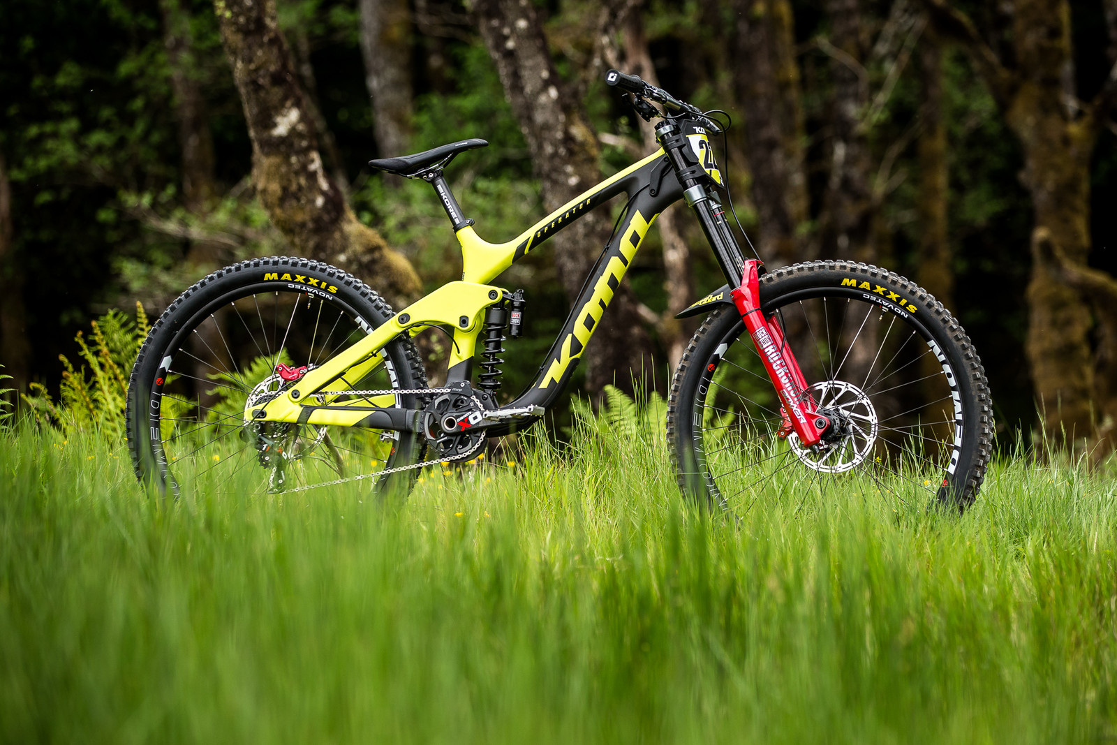 Connor Fearon's Kona Supreme Operator for Fort William - Connor Fearon's Kona Supreme Operator for Fort William - Mountain Biking Pictures - Vital MTB