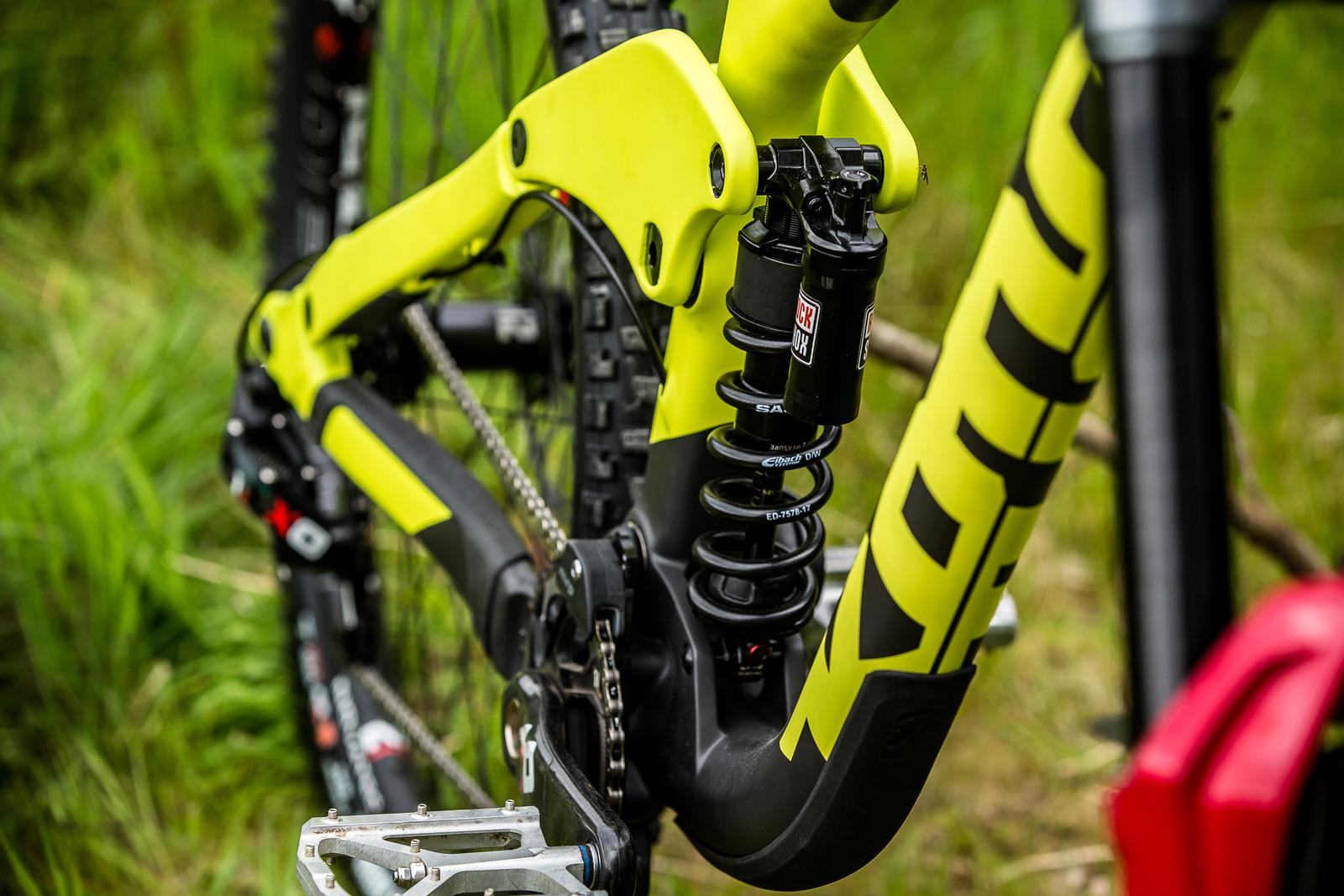 See the Midge? - Connor Fearon's Kona Supreme Operator for Fort William - Mountain Biking Pictures - Vital MTB