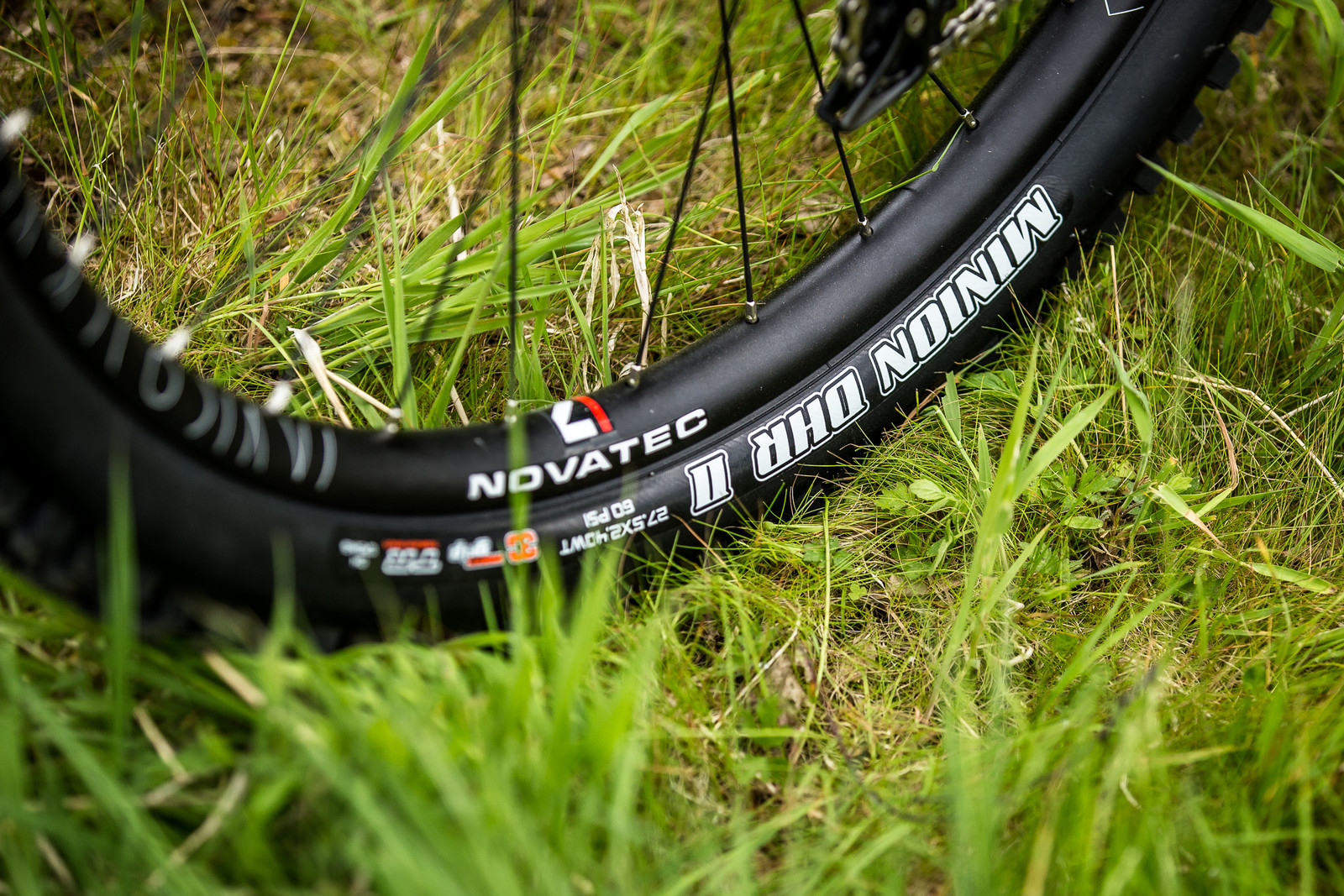 Novatec Wheels with Maxxis Minion DHR II 27.5 x 2.4 WT Tires - Connor Fearon's Kona Supreme Operator for Fort William - Mountain Biking Pictures - Vital MTB