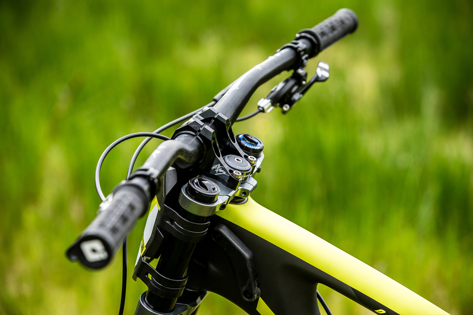 Kore Direct-Mount Stem - Connor Fearon's Kona Supreme Operator for Fort William - Mountain Biking Pictures - Vital MTB