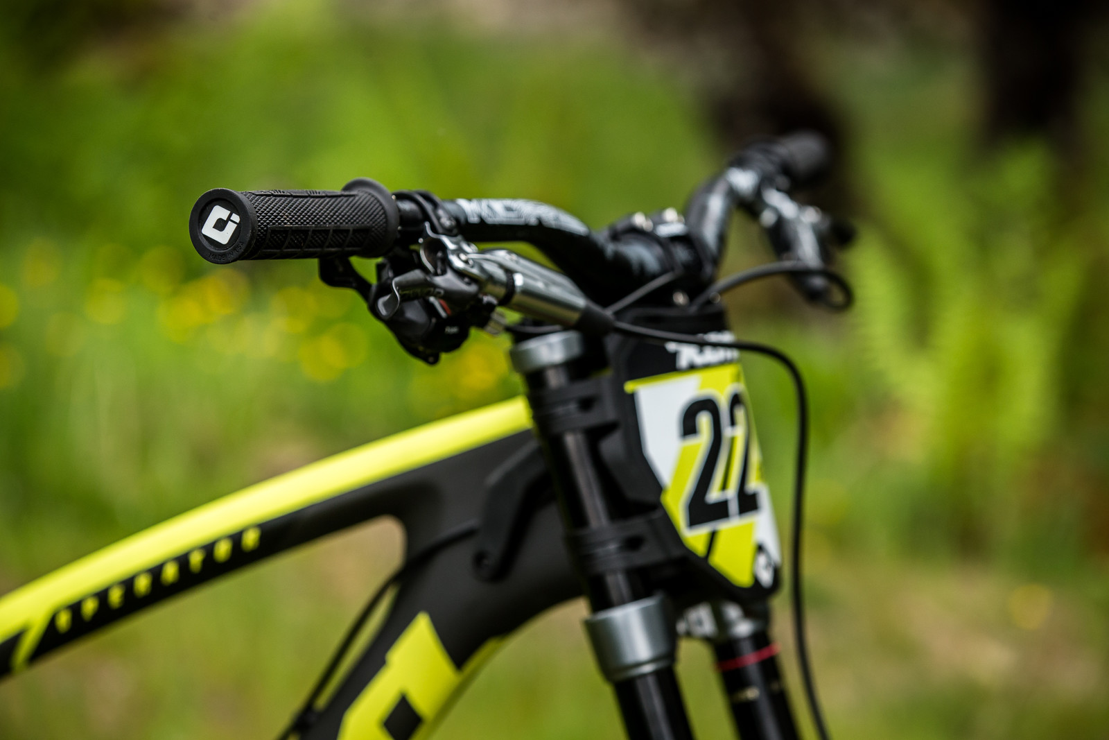 ODI Grips - Connor Fearon's Kona Supreme Operator for Fort William - Mountain Biking Pictures - Vital MTB
