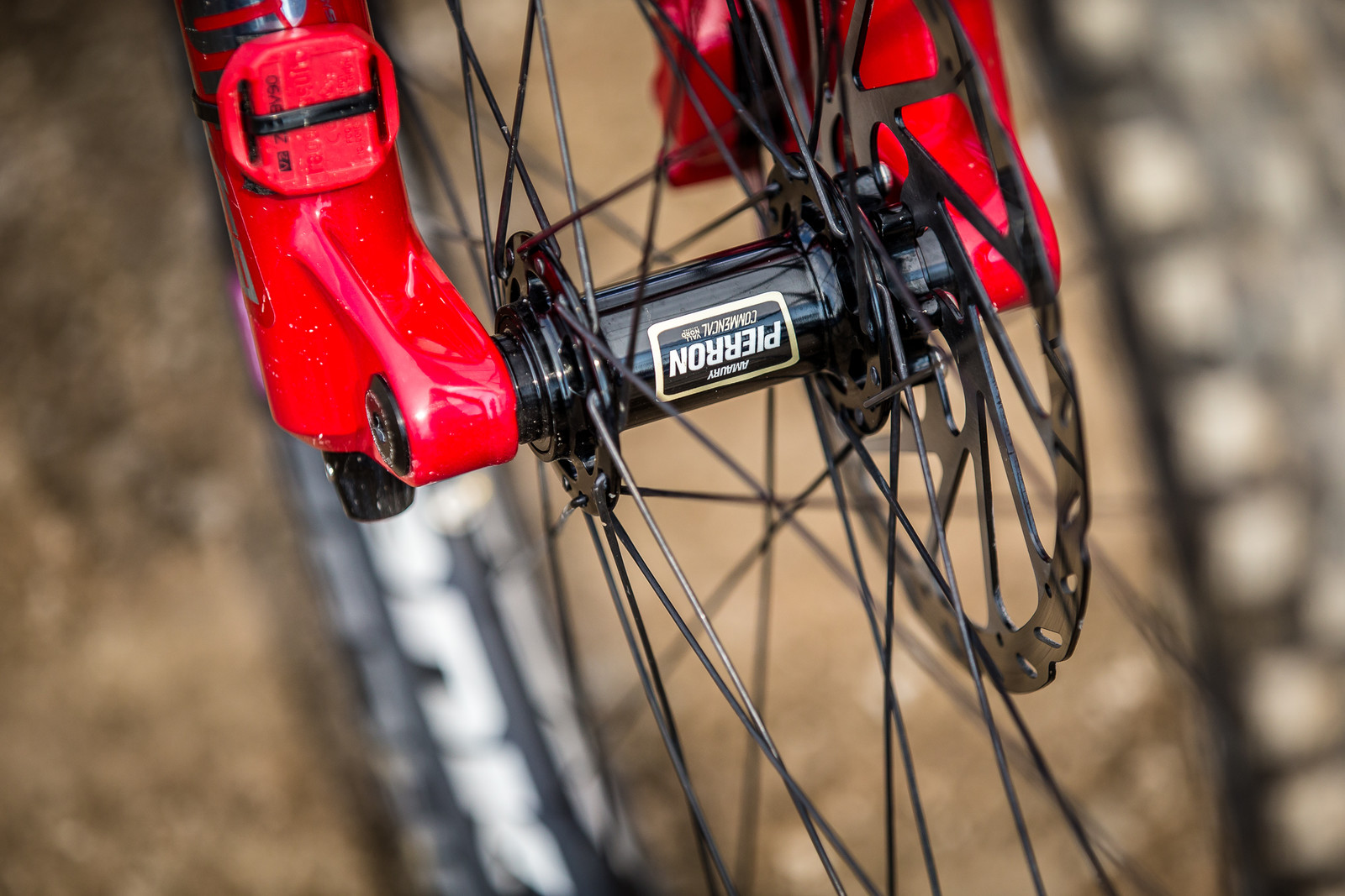 Bling Everywhere - WINNING BIKE - Amaury Pierron's Commencal Supreme DH 29 - Mountain Biking Pictures - Vital MTB