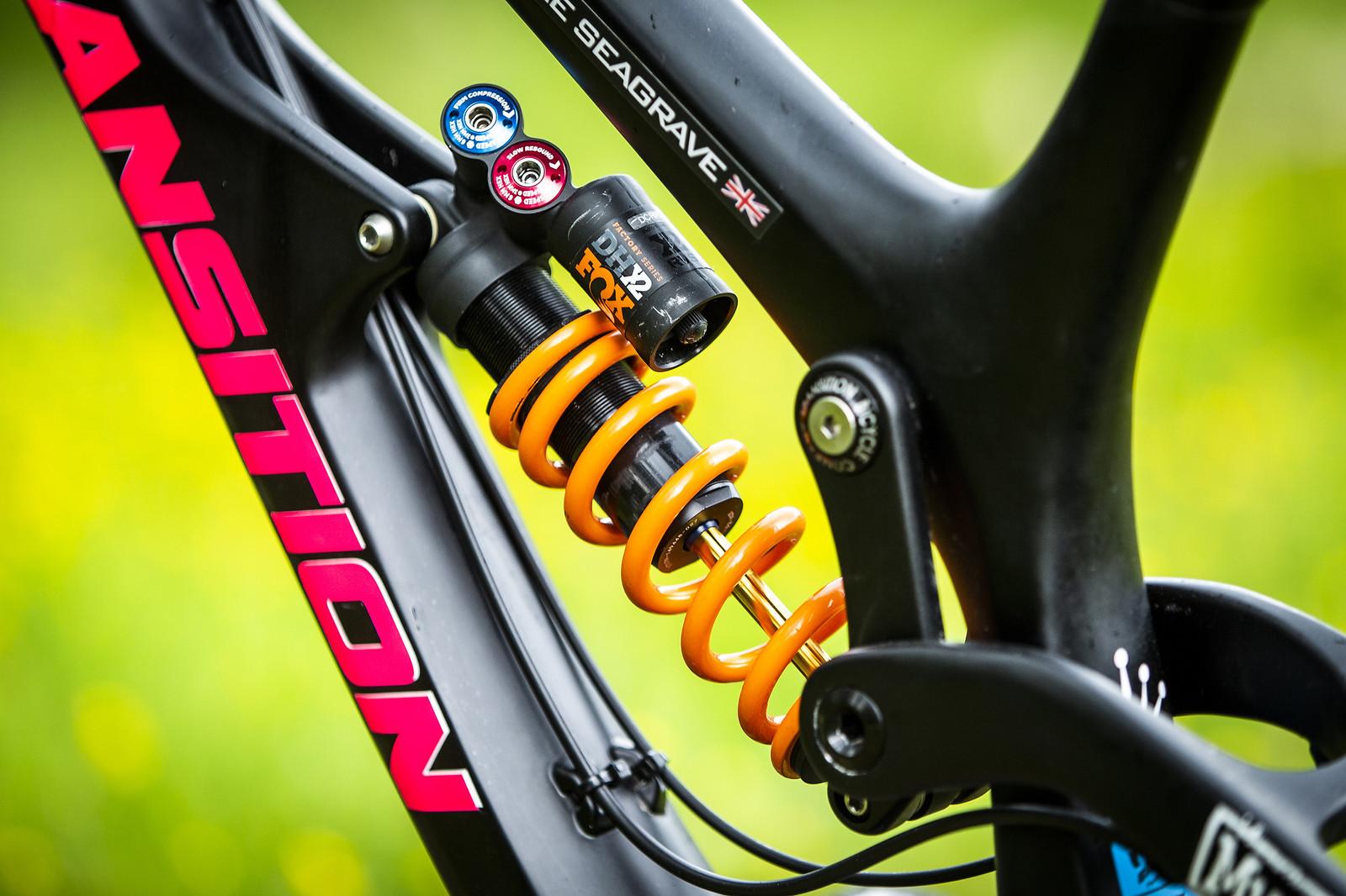 FOX DHX2 Coil Shock - WINNING BIKE - Tahnee Seagrave's Transition TR11 - Mountain Biking Pictures - Vital MTB