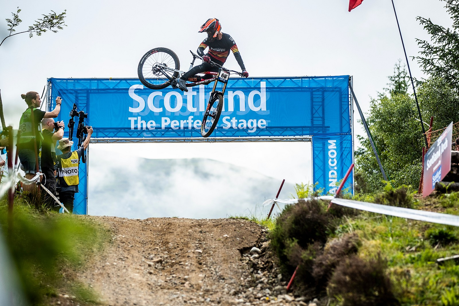Alex Marin - Fort William World Cup DH Whips - Mountain Biking Pictures - Vital MTB