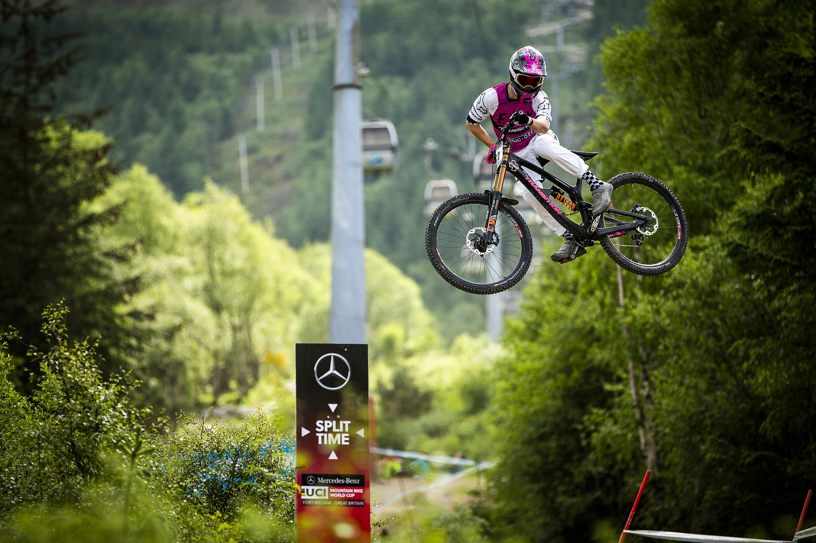 Kaos - Fort William World Cup DH Whips - Mountain Biking Pictures - Vital MTB