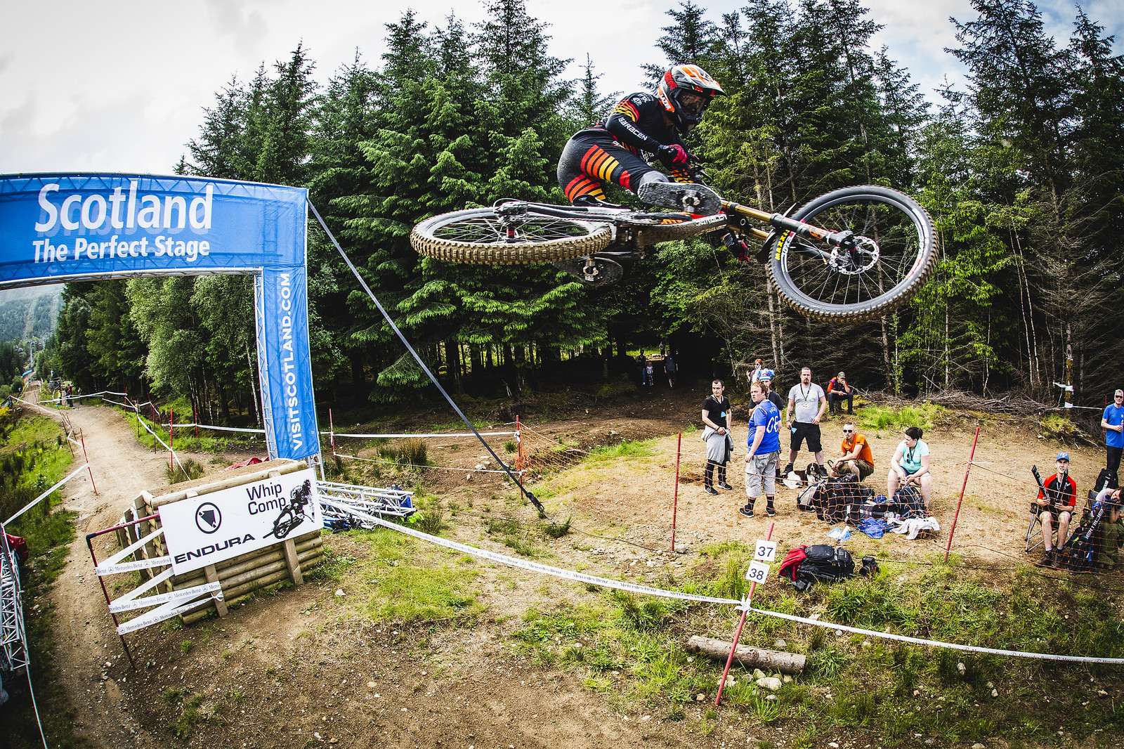 Marin - Fort William World Cup DH Whips - Mountain Biking Pictures - Vital MTB