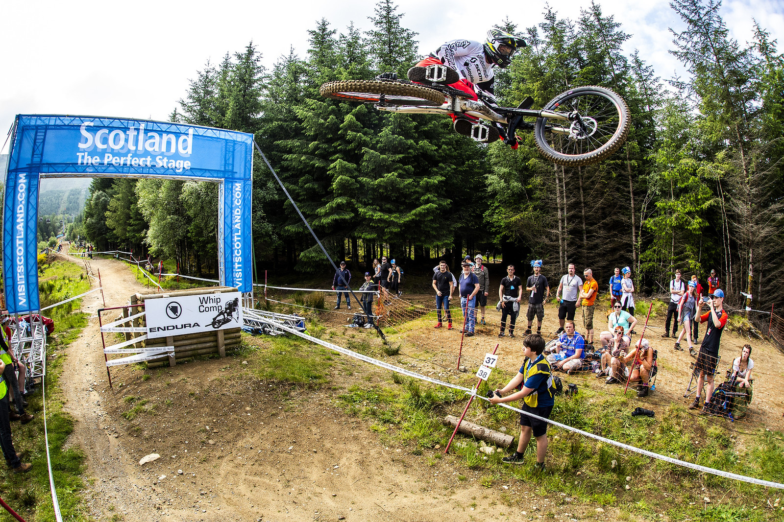 Brendan - Fort William World Cup DH Whips - Mountain Biking Pictures - Vital MTB