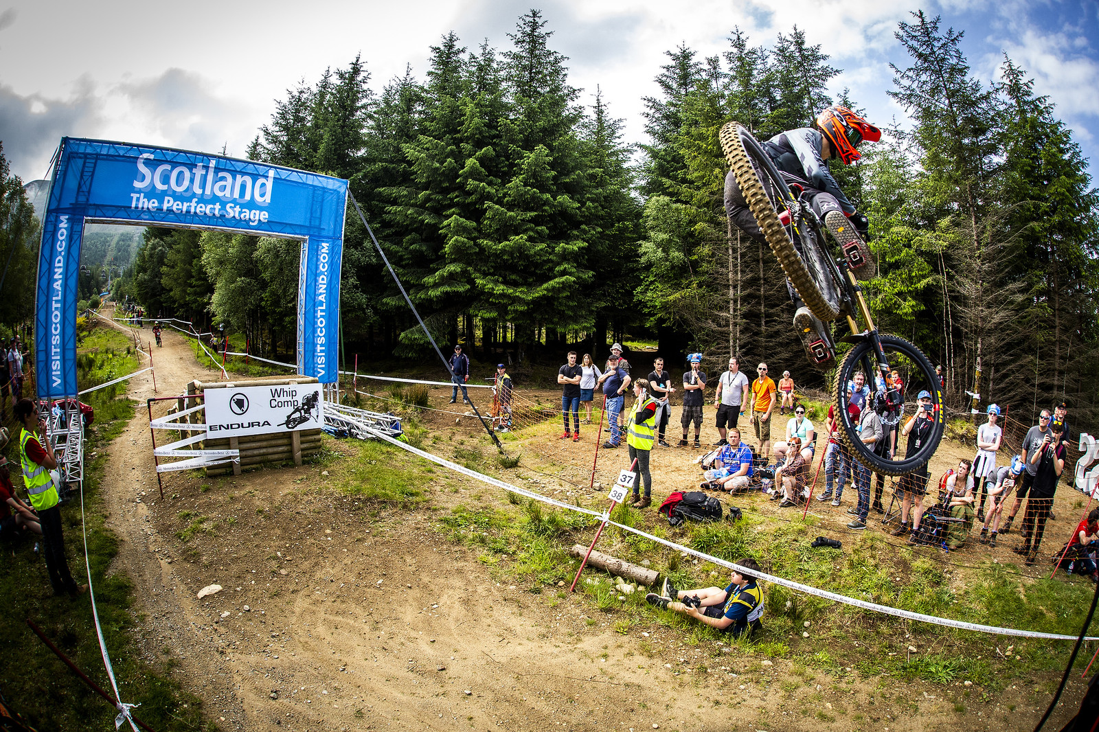 Luca - Fort William World Cup DH Whips - Mountain Biking Pictures - Vital MTB