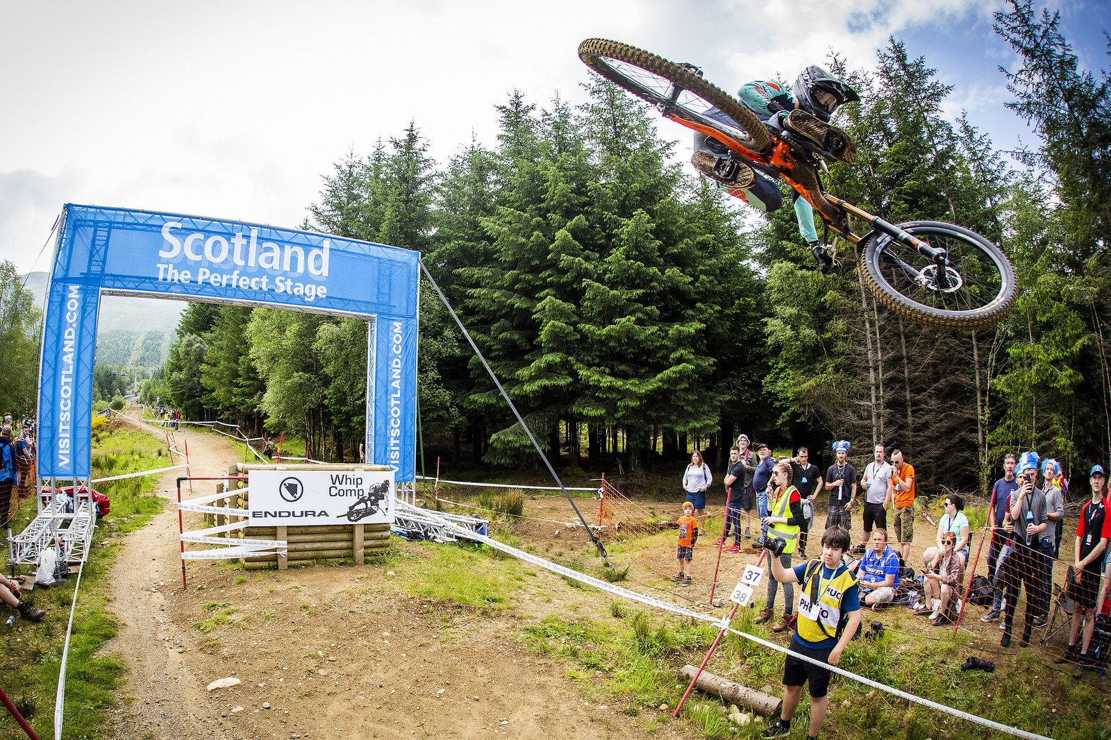 Fort William Whip Overflow - Fort William World Cup DH Whips - Mountain Biking Pictures - Vital MTB