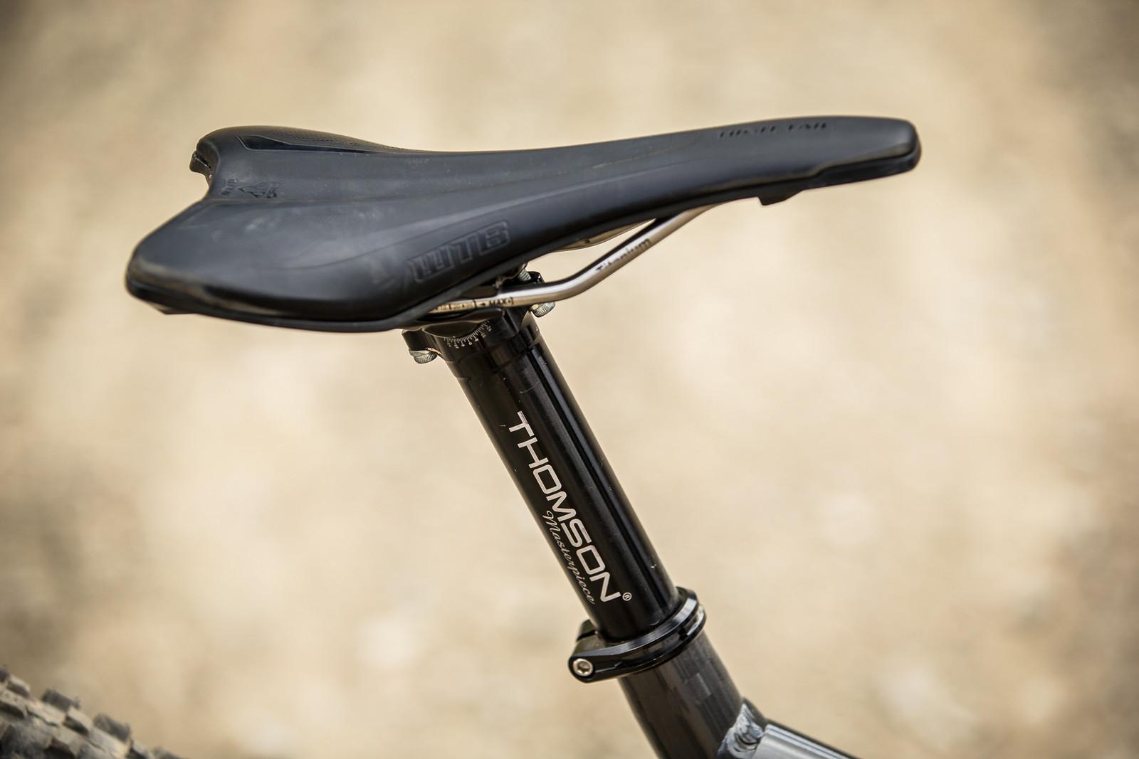 WTB Saddle - WINNING BIKE - Amaury Pierron's Commencal Supreme DH 29 - Mountain Biking Pictures - Vital MTB