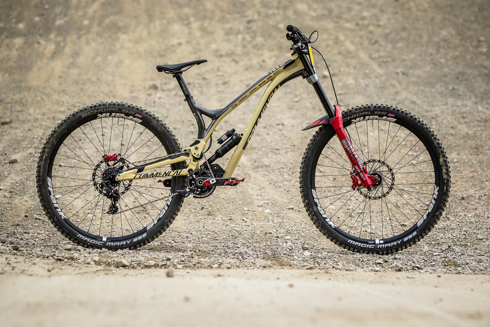 WINNING BIKE - Amaury Pierron's Commencal Supreme DH 29 - WINNING BIKE - Amaury Pierron's Commencal Supreme DH 29 - Mountain Biking Pictures - Vital MTB
