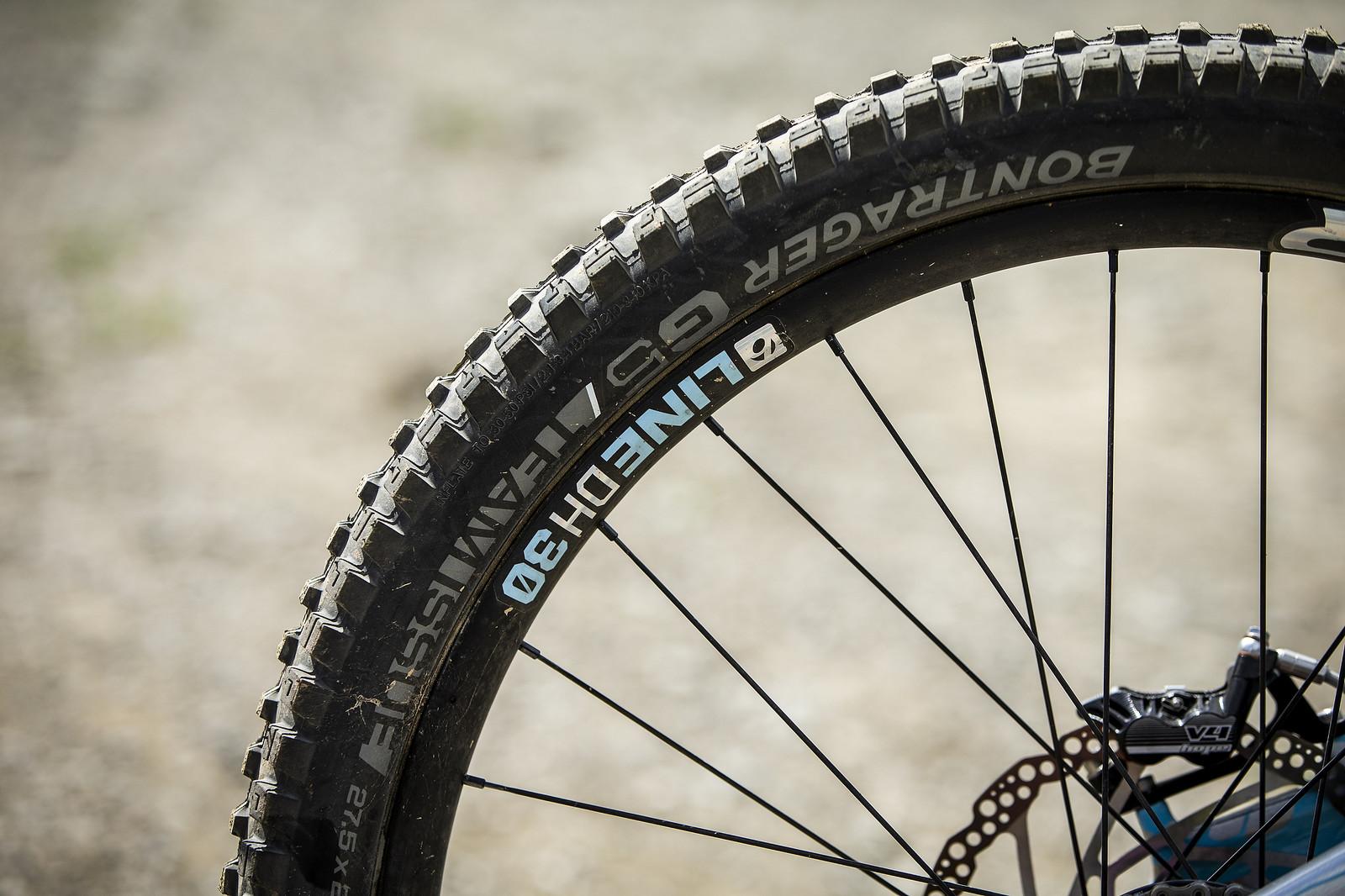 Bontrager G5 Team Issue Tires - WINNING BIKE - Rachel Atherton's Trek Session - Mountain Biking Pictures - Vital MTB