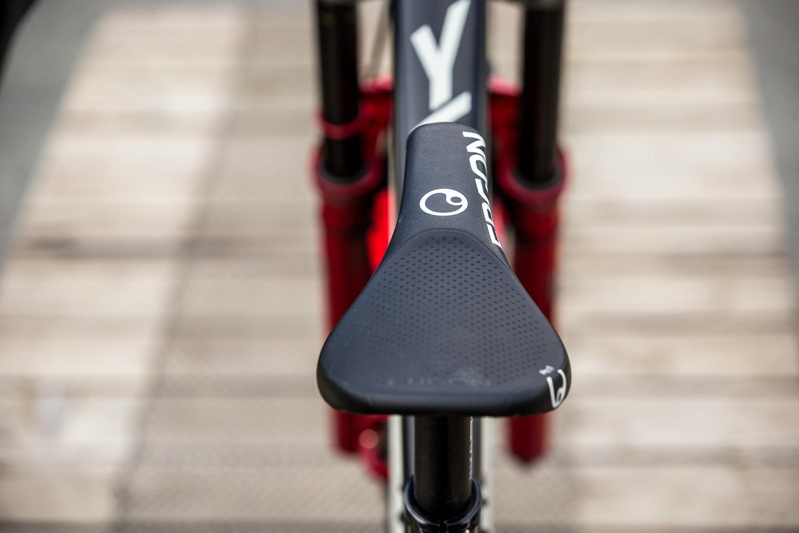 Ergon Saddle - WINNING BIKE - Vali Höll's YT TUES - Mountain Biking Pictures - Vital MTB