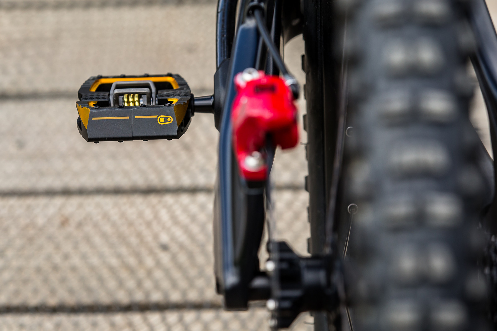 Crank Brothers Mallet DH Pedals - WINNING BIKE - Vali Höll's YT TUES - Mountain Biking Pictures - Vital MTB