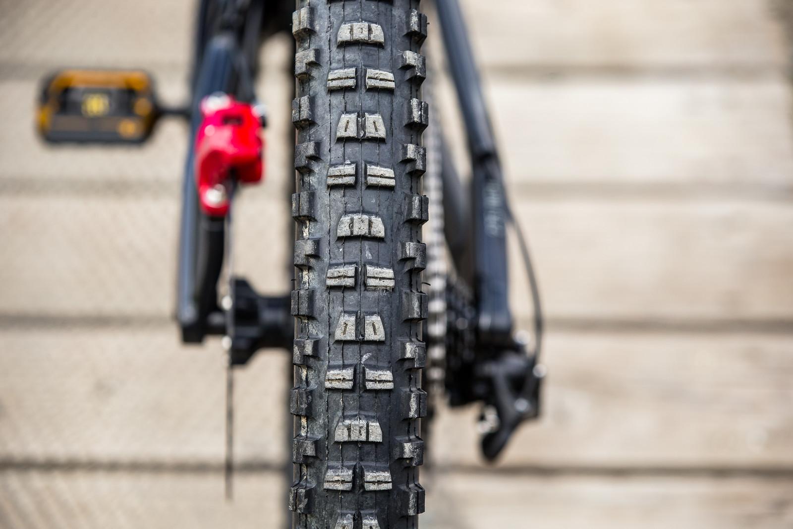 Maxxis Minion DHR II Rear Tire - WINNING BIKE - Vali Höll's YT TUES - Mountain Biking Pictures - Vital MTB
