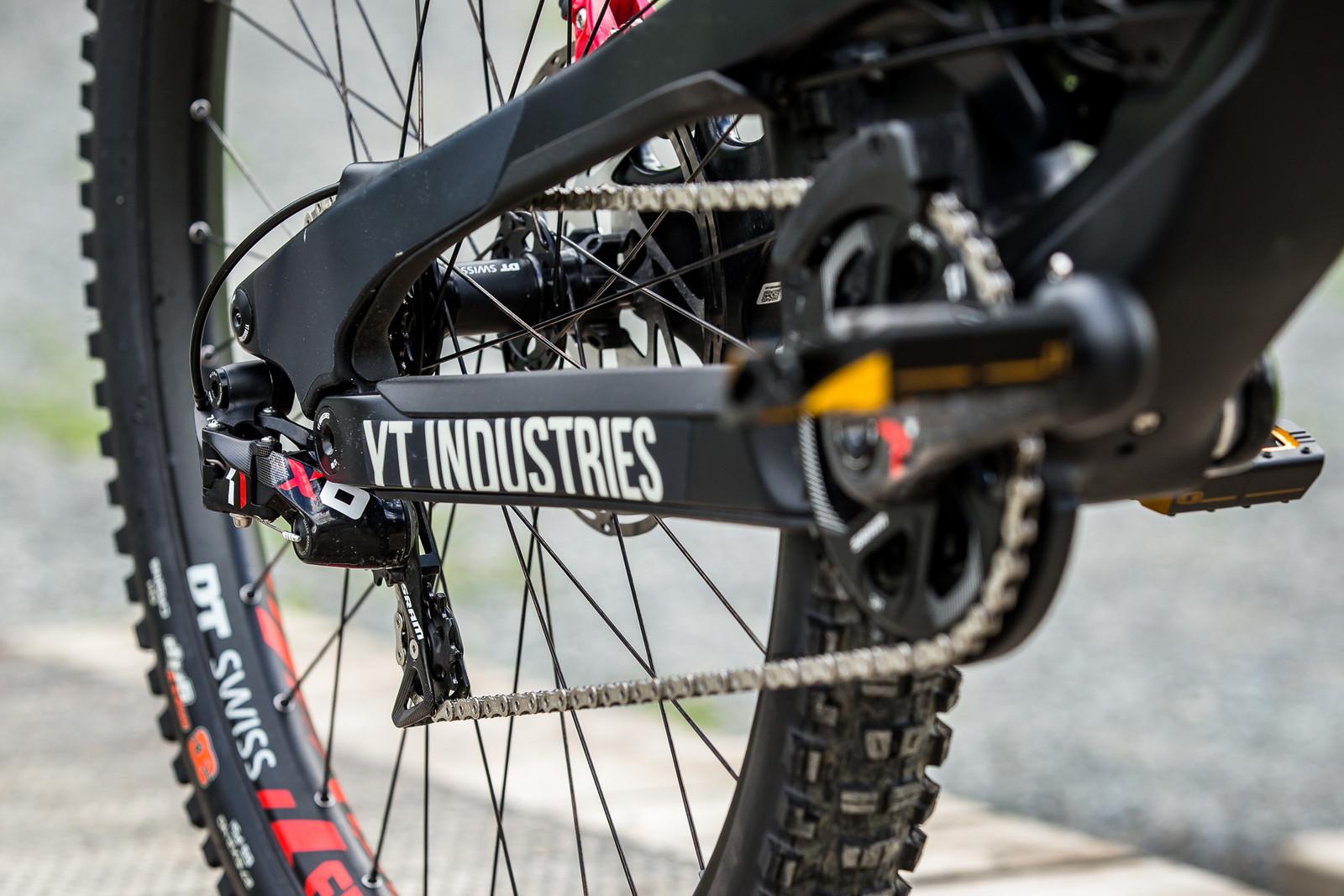 SRAM X0 DH Drivetrain - WINNING BIKE - Vali Höll's YT TUES - Mountain Biking Pictures - Vital MTB