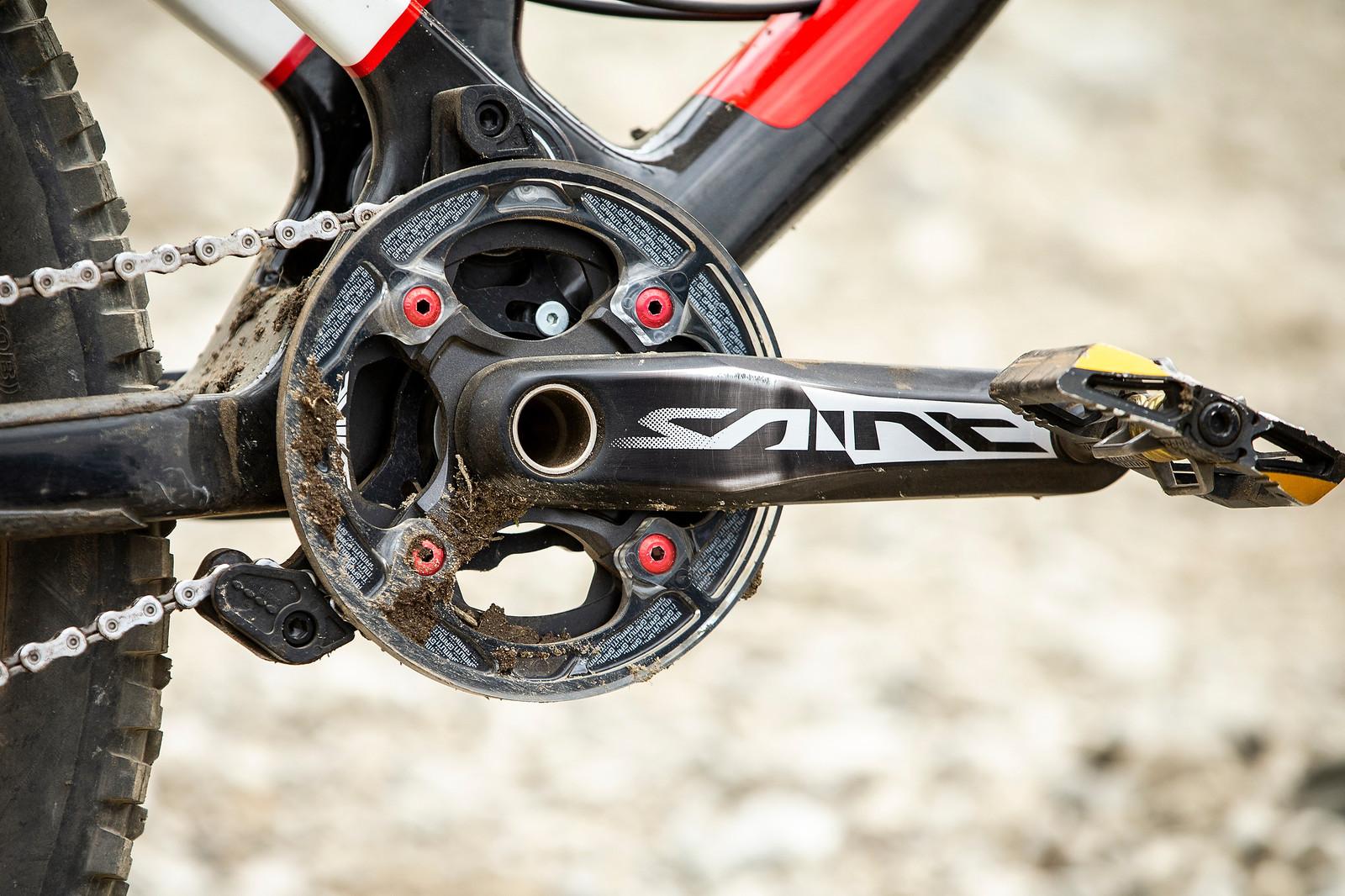 Gamut Chainguide - WINNING BIKE - Danny Hart's Saracen Myst - Mountain Biking Pictures - Vital MTB
