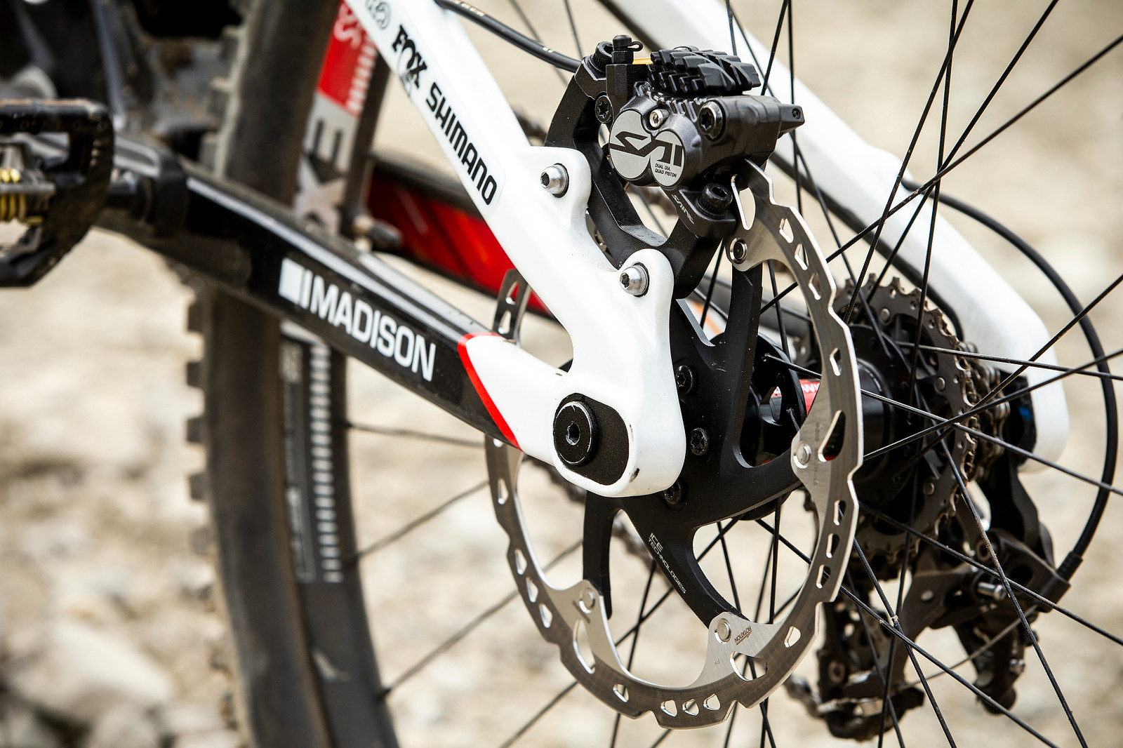 Slammed Chainstay Length for Innsbruck - WINNING BIKE - Danny Hart's Saracen Myst - Mountain Biking Pictures - Vital MTB