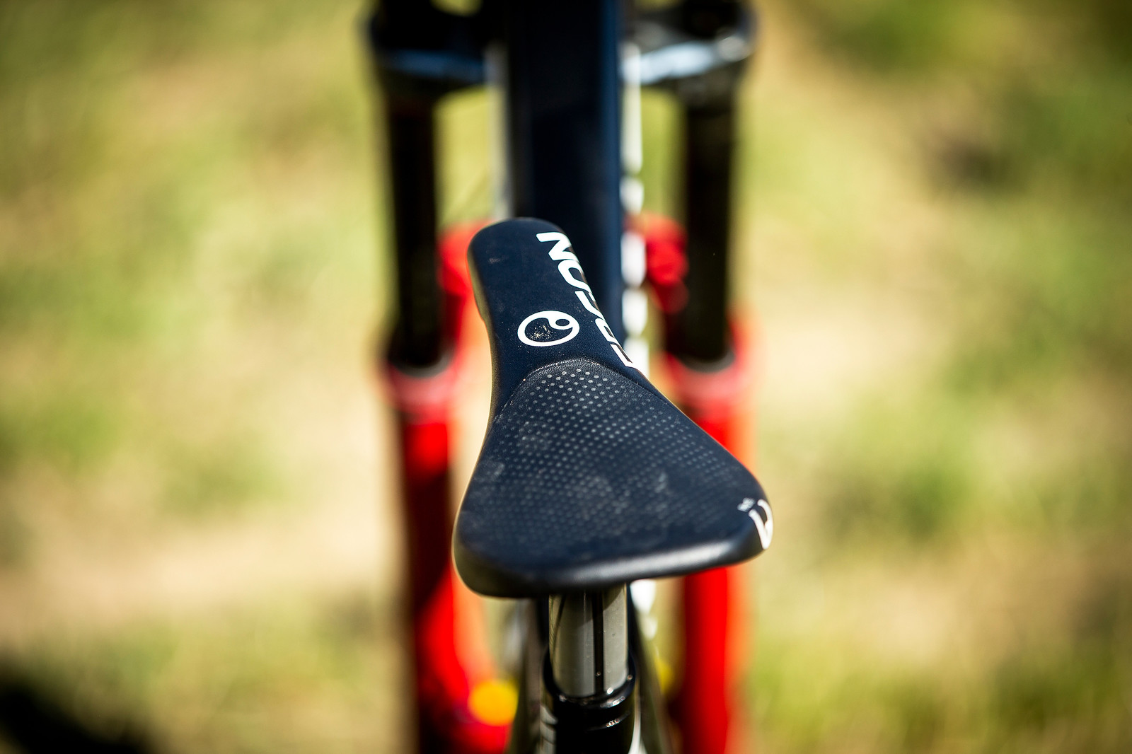 Ergon DH Saddle - WINNING BIKE - Troy Brosnan's Canyon Sender - Mountain Biking Pictures - Vital MTB