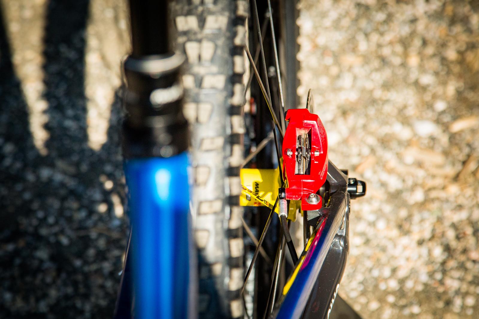 SRAM CODE Brakes - PIT BITS - Enduro World Series, Petzen - Mountain Biking Pictures - Vital MTB