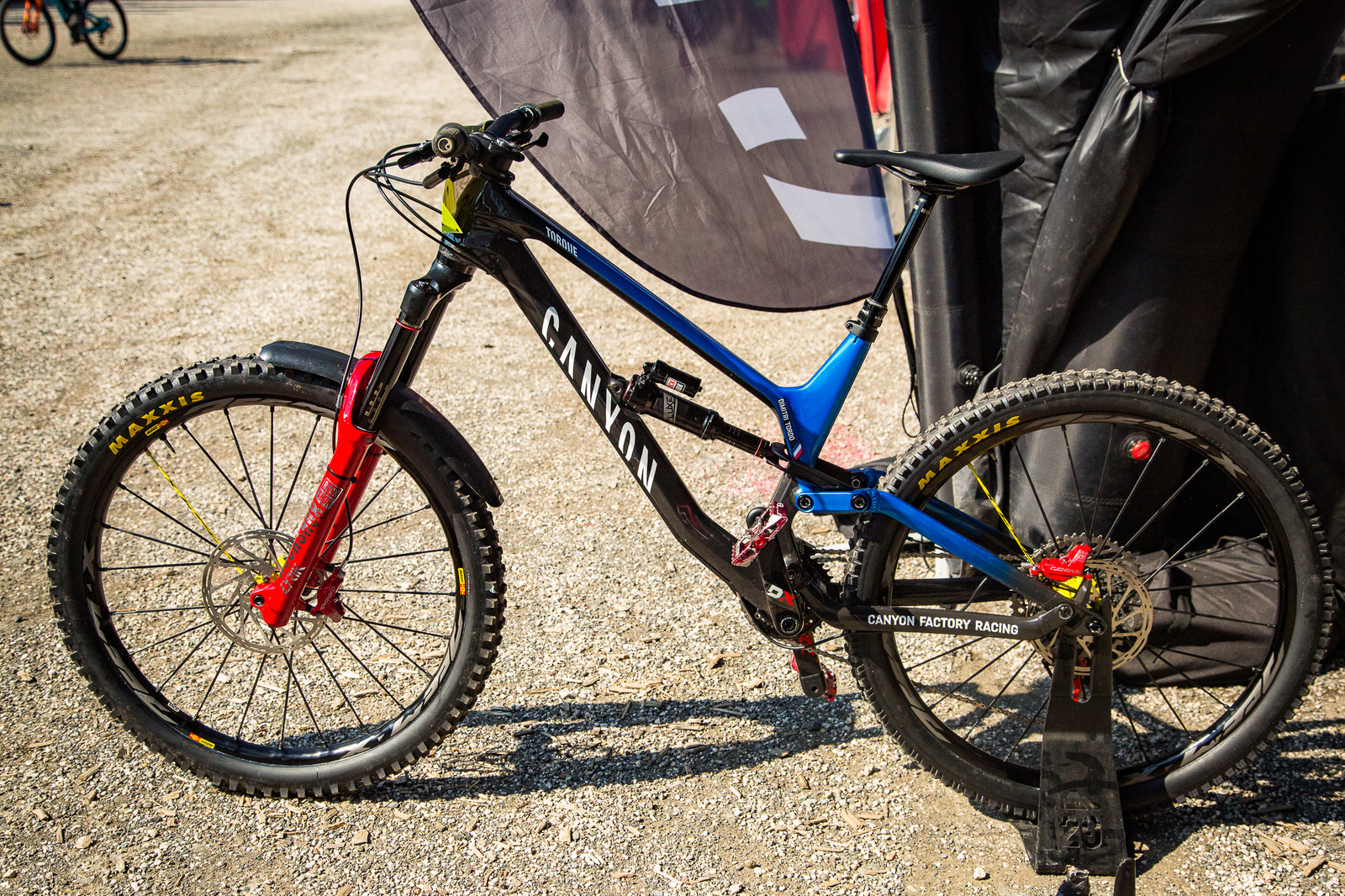 Dimitri Tordo's Canyon Torque - PIT BITS - Enduro World Series, Petzen - Mountain Biking Pictures - Vital MTB