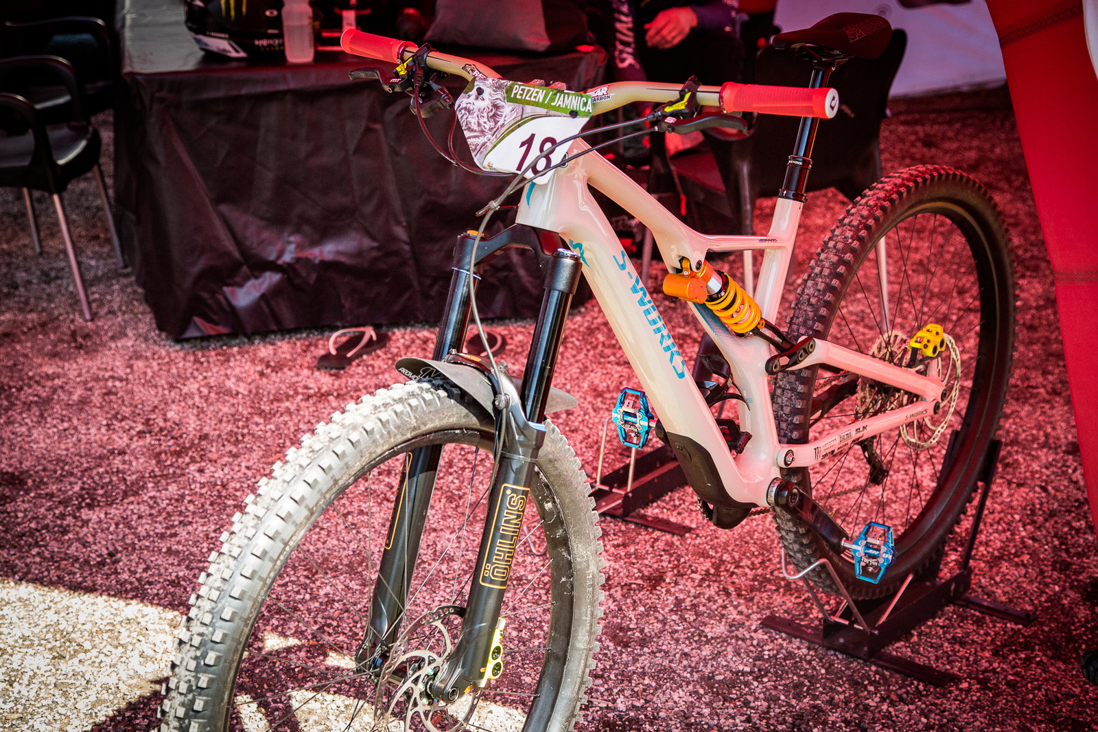 EWS PIT BITS - Jared Graves' Specialized Stumpjumper - PIT BITS - Enduro World Series, Petzen - Mountain Biking Pictures - Vital MTB