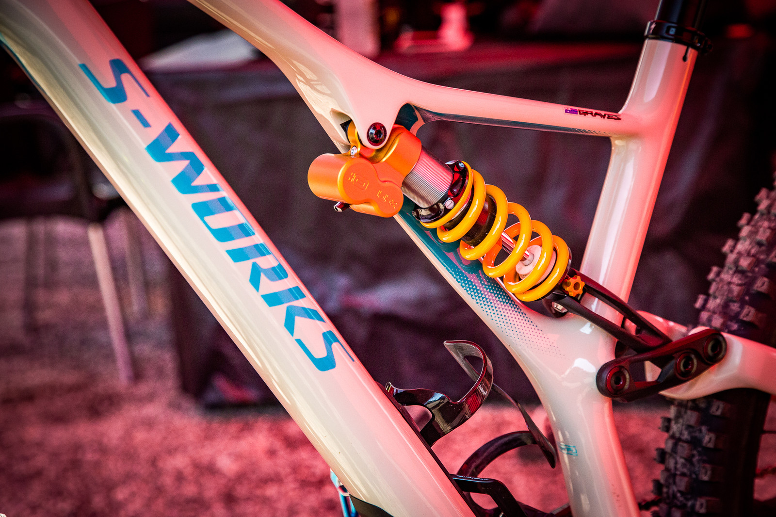 Ohlins TTX - PIT BITS - Enduro World Series, Petzen - Mountain Biking Pictures - Vital MTB