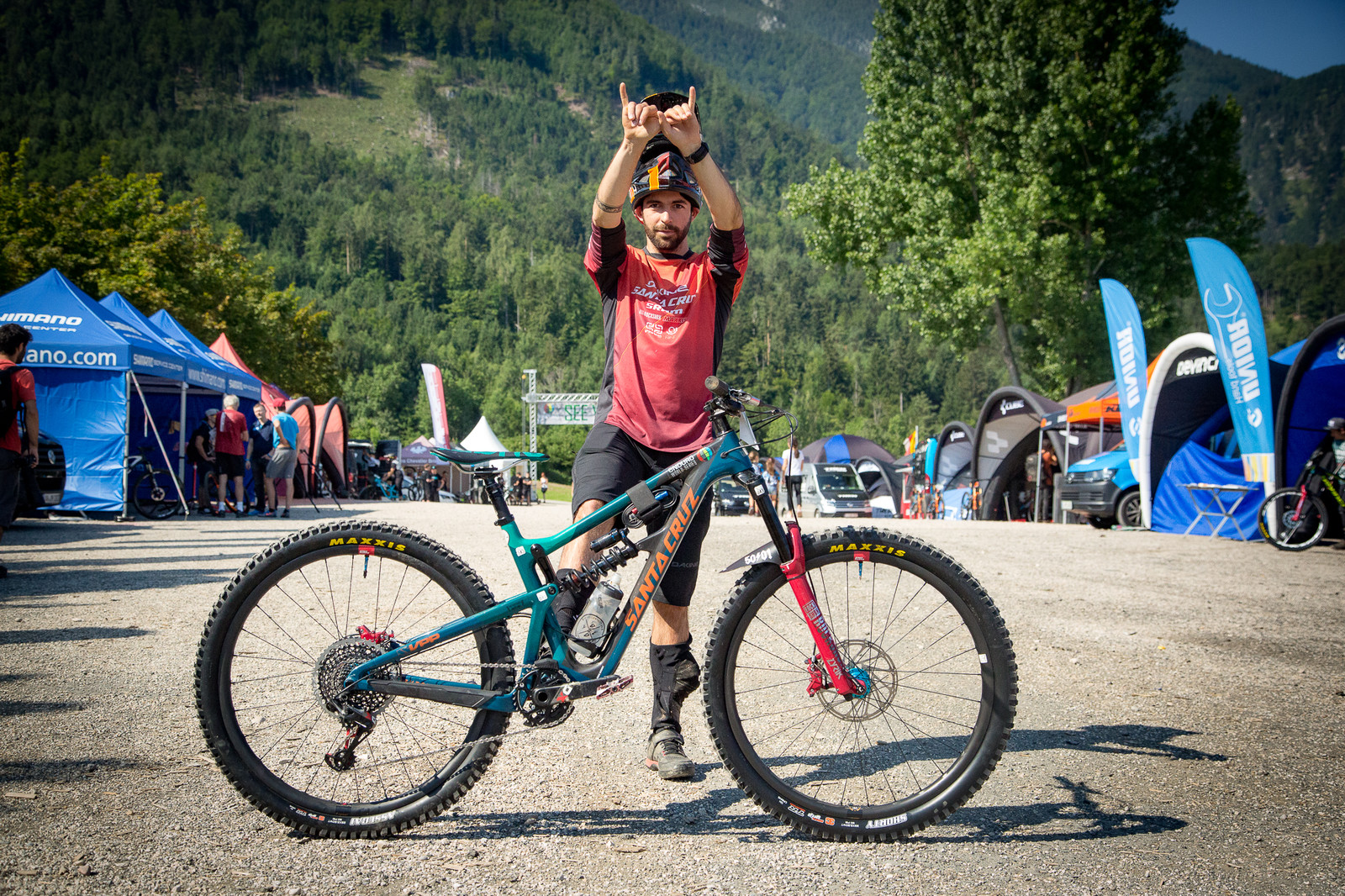 Iago Garay's Santa Cruz Hightower LT - PIT BITS - Enduro World Series, Petzen - Mountain Biking Pictures - Vital MTB