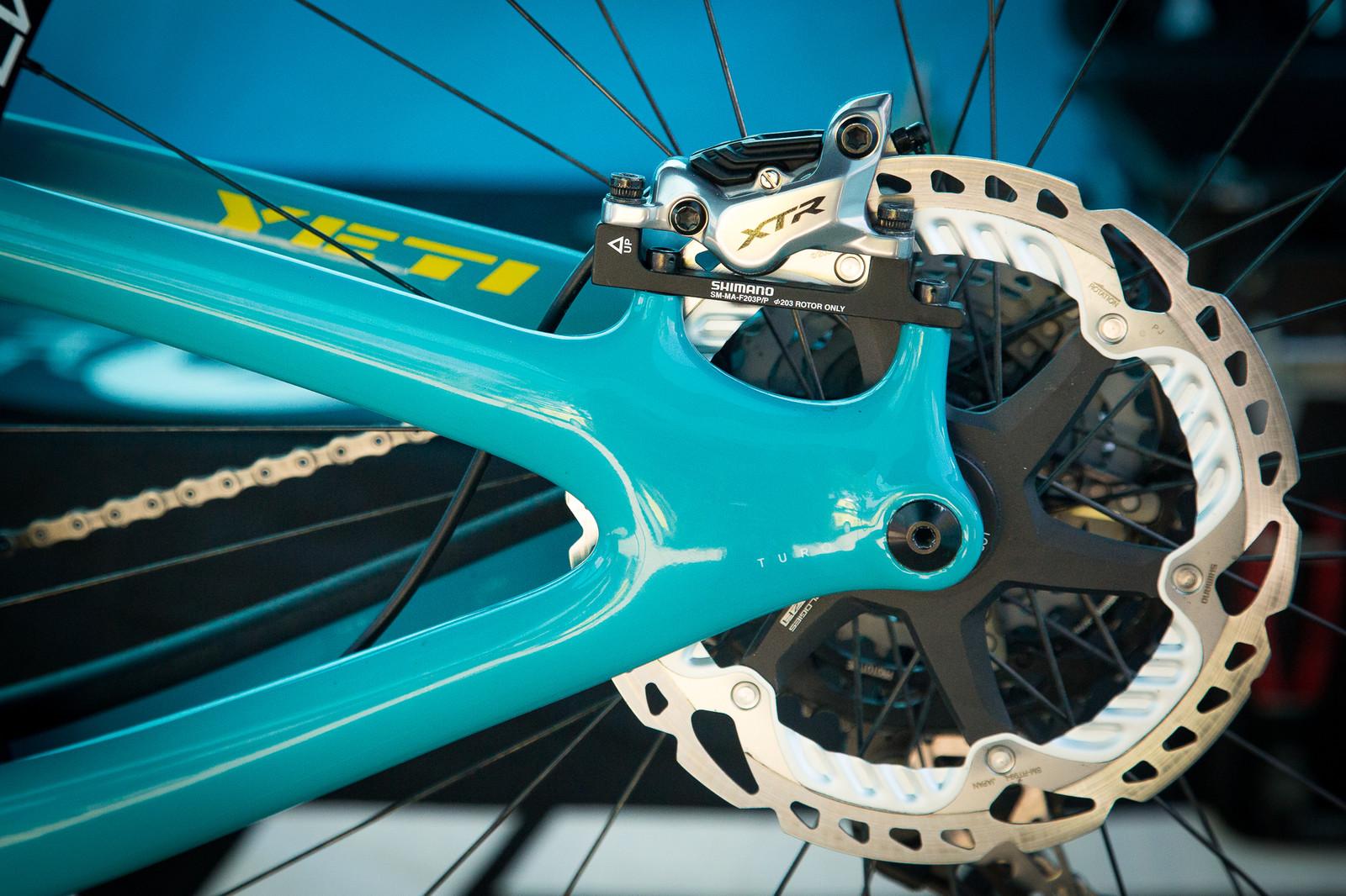 Shimano XTR brakes - PIT BITS - Enduro World Series, Petzen - Mountain Biking Pictures - Vital MTB