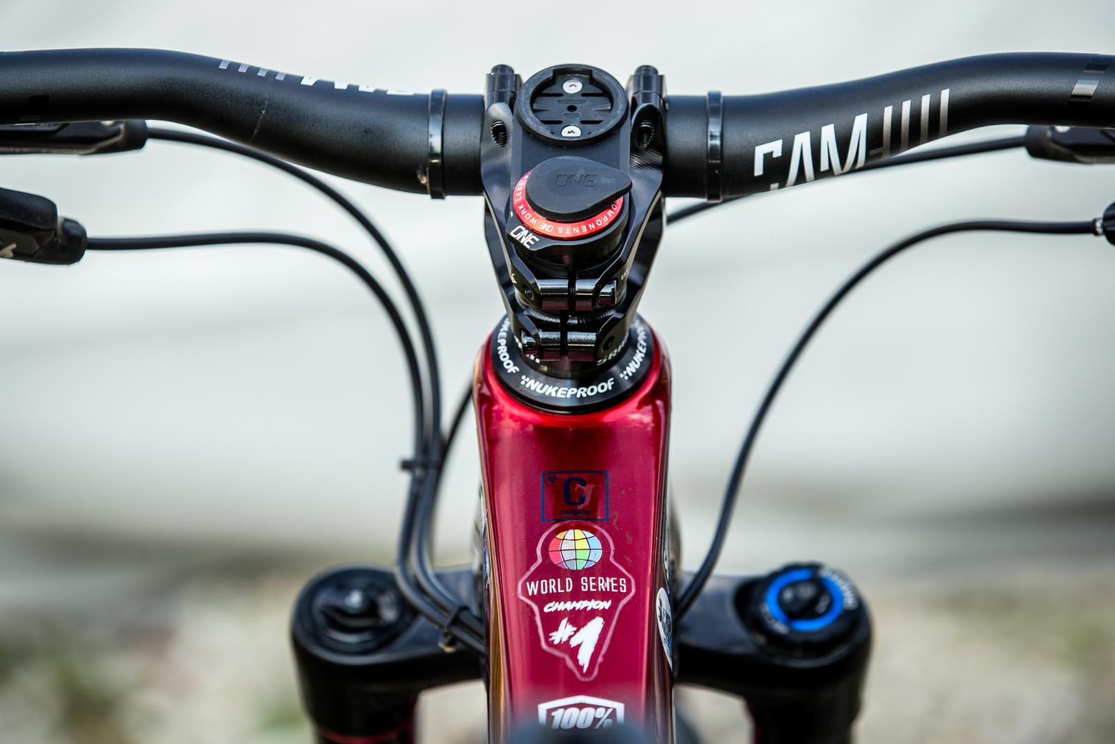 OneUp Components Stash Tool - WINNING BIKE - Sam Hill's Nukeproof Mega 275 - Mountain Biking Pictures - Vital MTB
