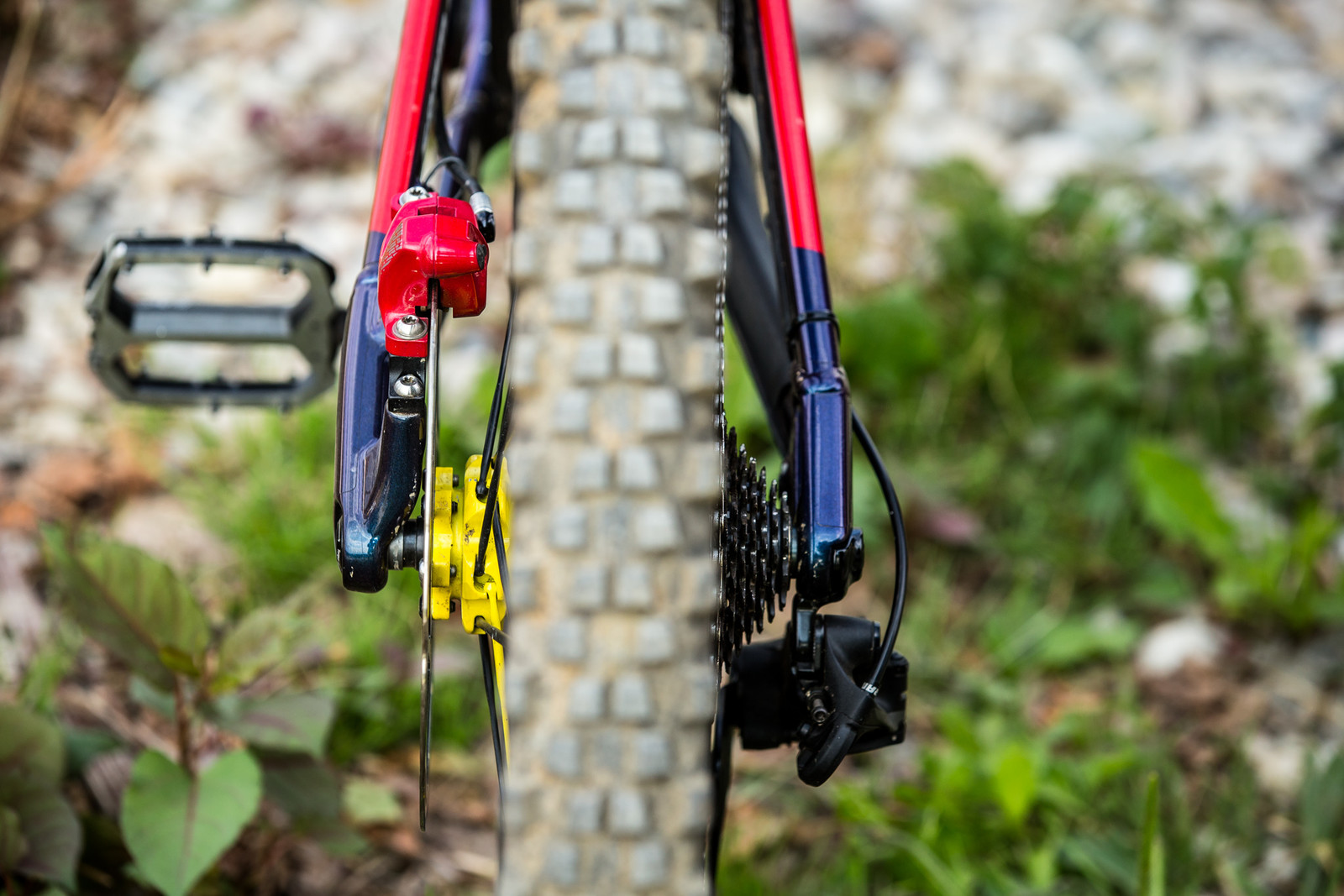 Rear End - WINNING BIKE - Sam Hill's Nukeproof Mega 275 - Mountain Biking Pictures - Vital MTB